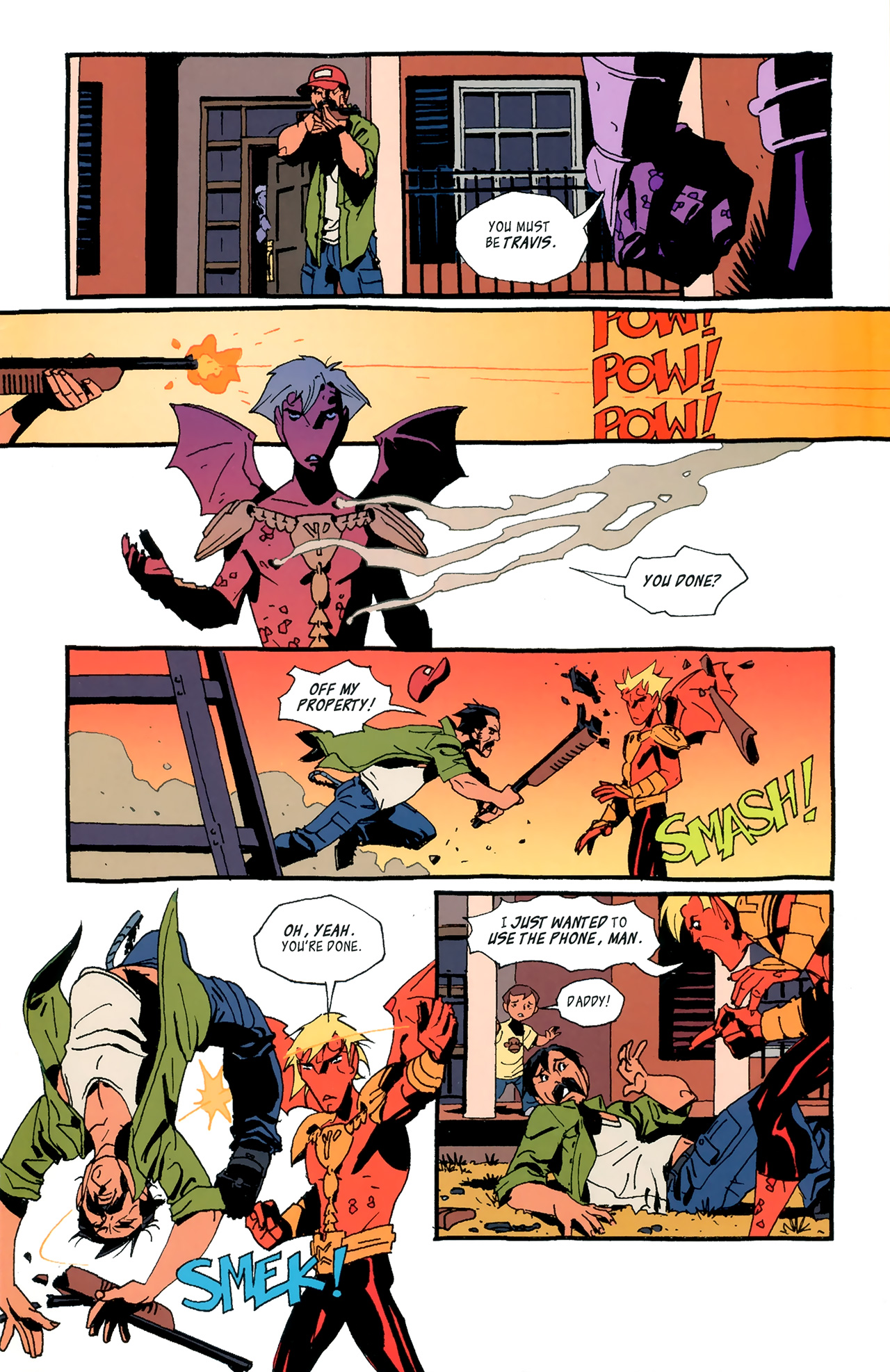 Read online FireBreather: Holmgang comic -  Issue #1 - 6
