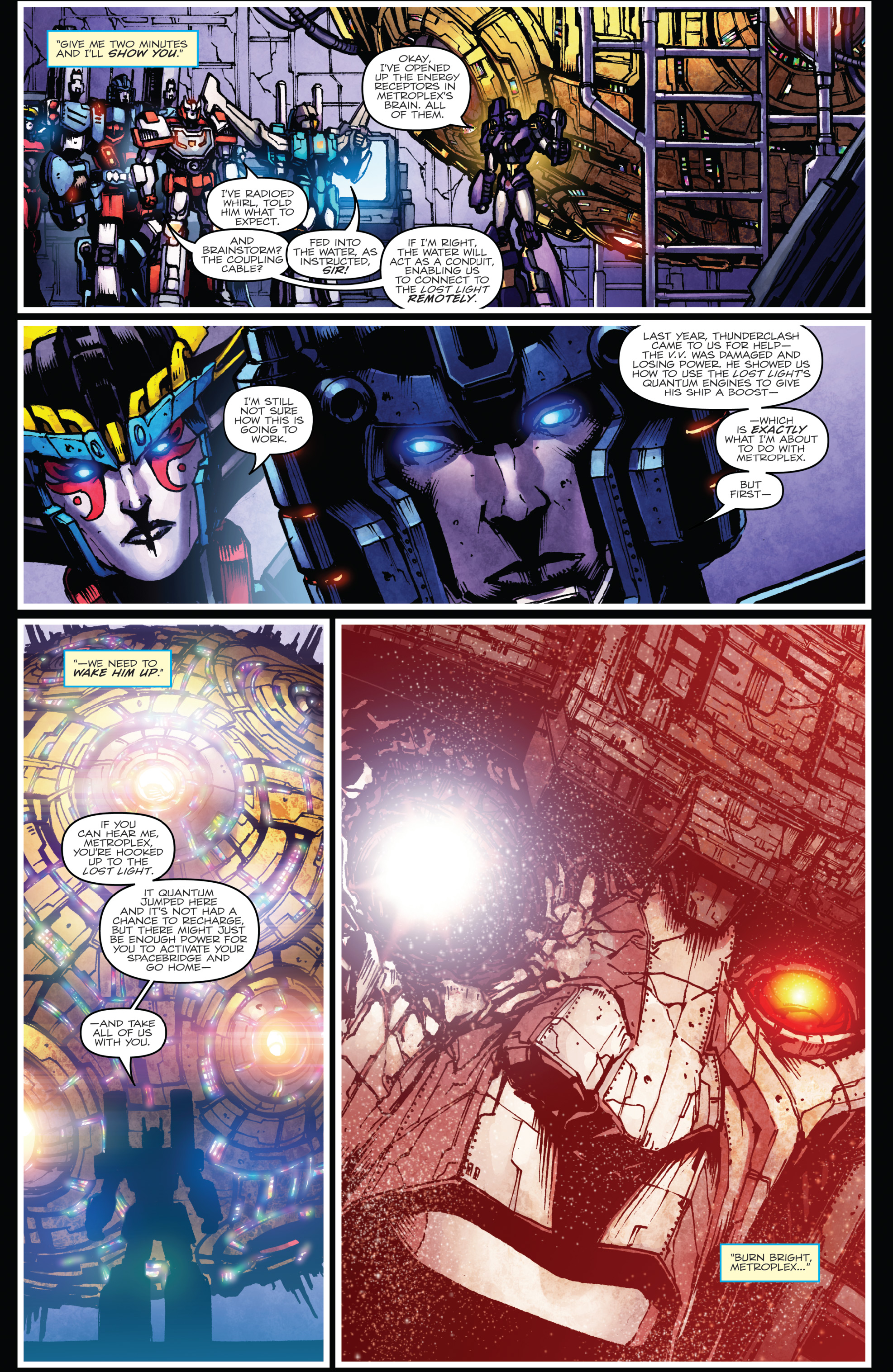 Read online The Transformers: Dark Cybertron Finale comic -  Issue # Full - 45