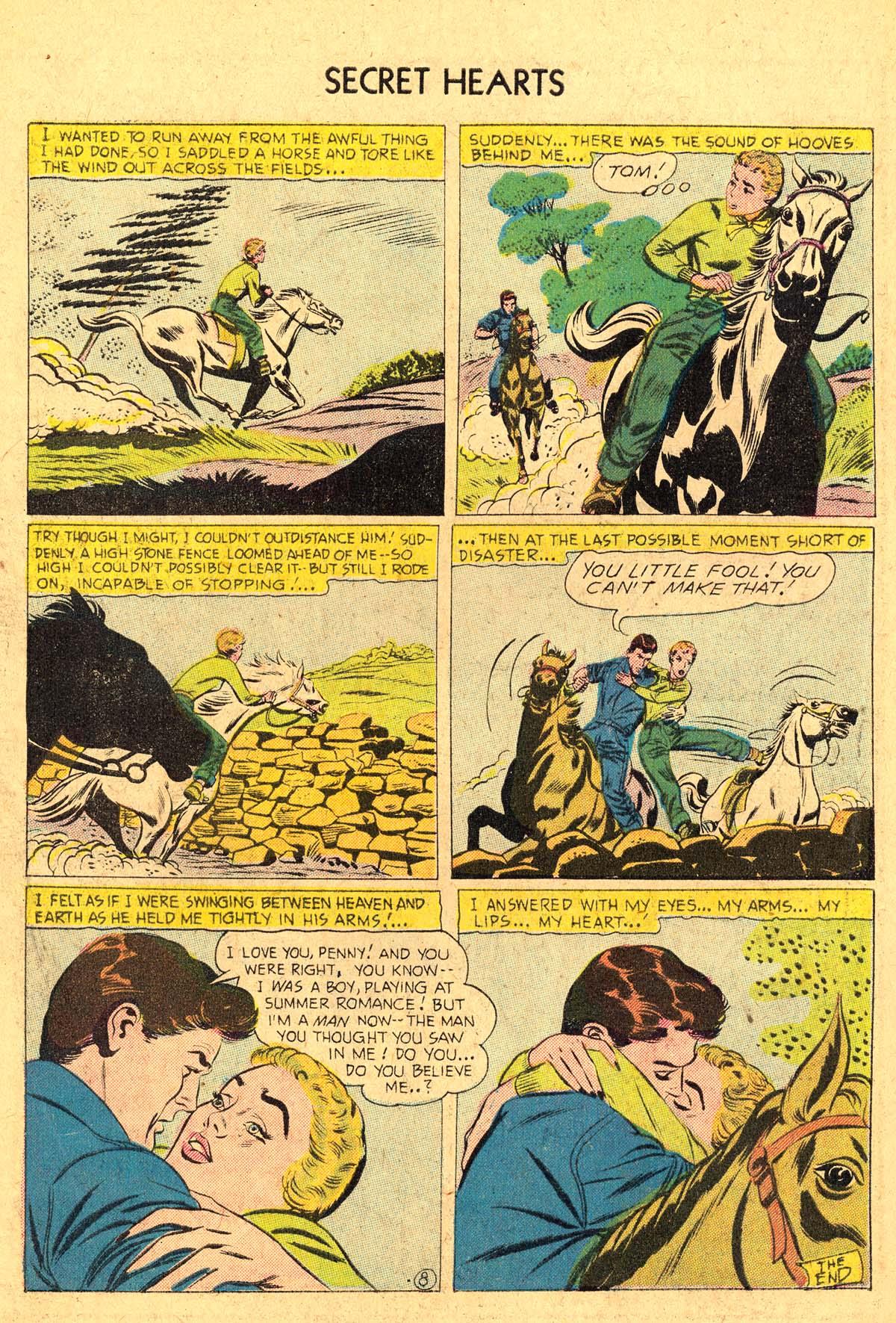 Read online Secret Hearts comic -  Issue #36 - 34