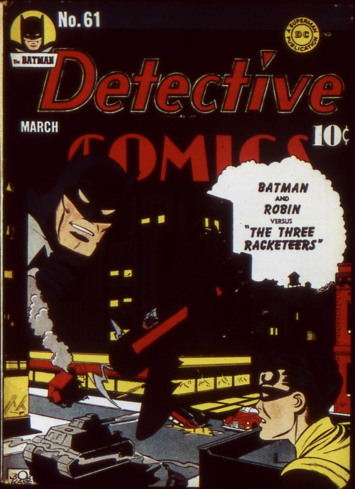 Detective Comics (1937) 61 Page 1