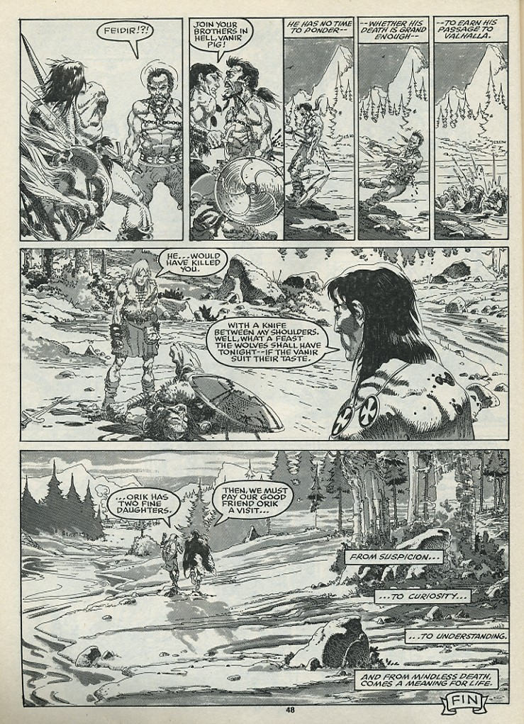 The Savage Sword Of Conan Issue #182 #183 - English 50