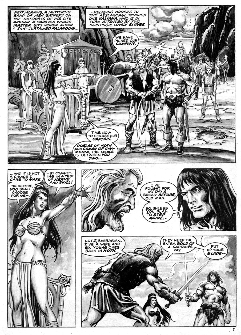 The Savage Sword Of Conan Issue #69 #70 - English 7