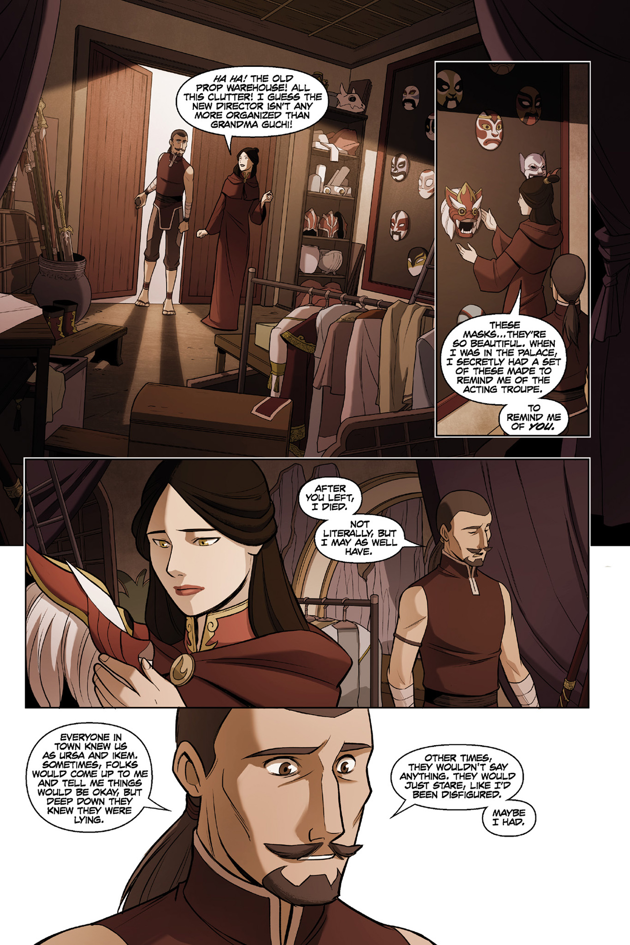 Read online Nickelodeon Avatar: The Last Airbender - The Search comic -  Issue # Part 3 - 19