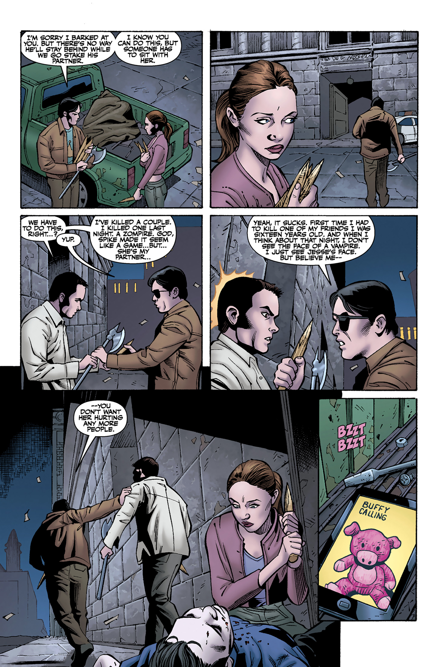Read online Buffy the Vampire Slayer Season Nine comic -  Issue #9 - 10