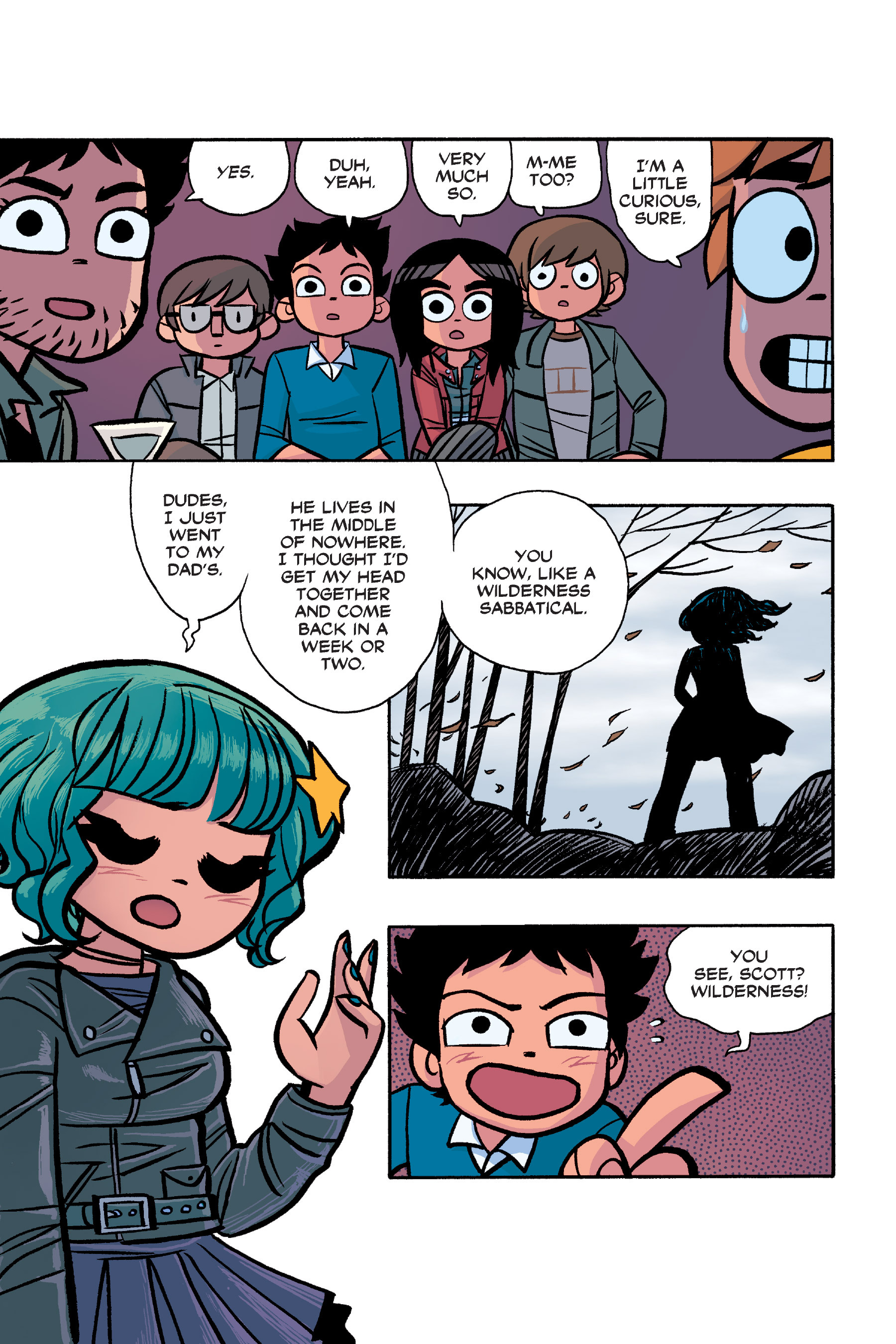 Read online Scott Pilgrim comic -  Issue #6 - 220