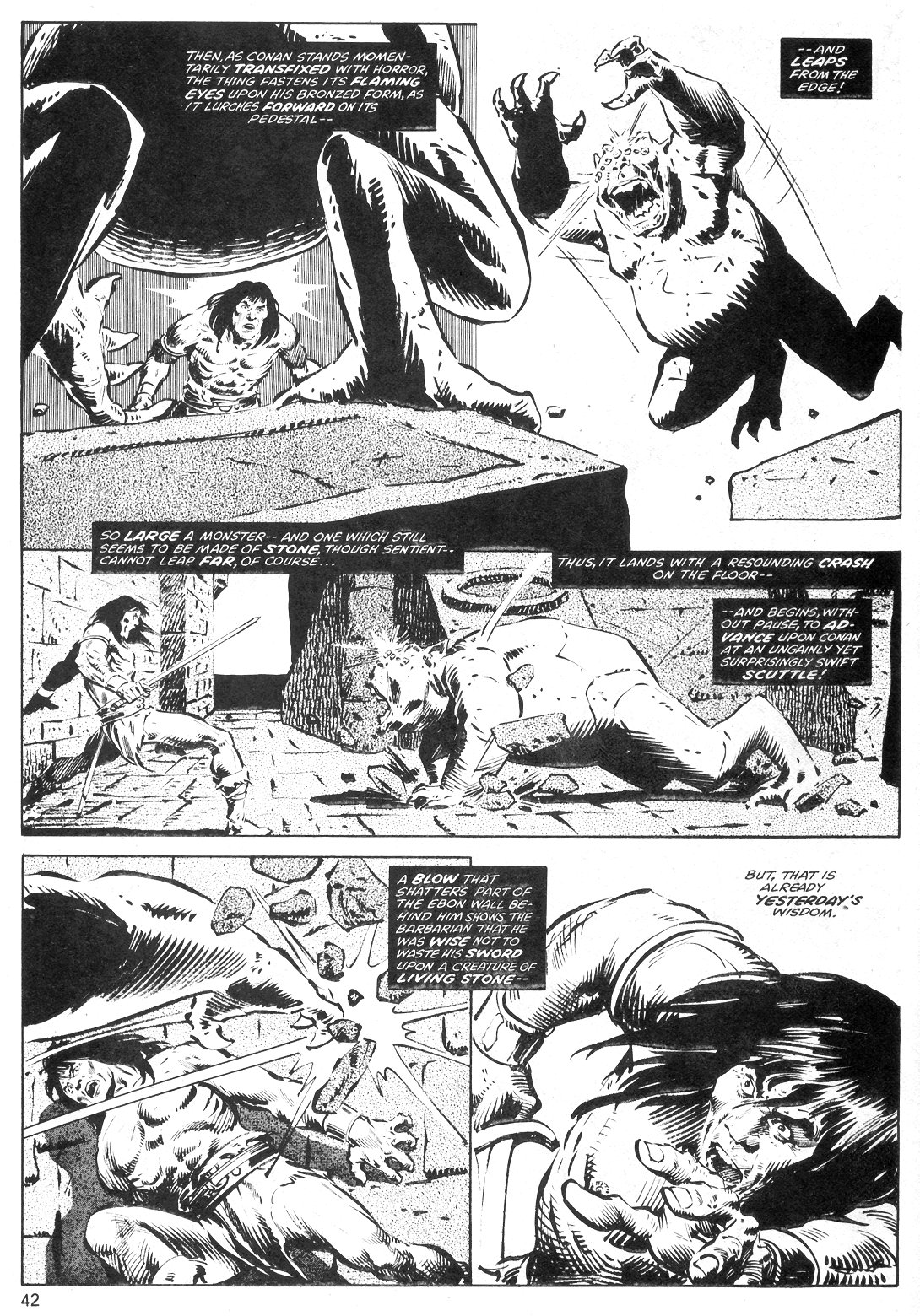The Savage Sword Of Conan Issue #40 #41 - English 42