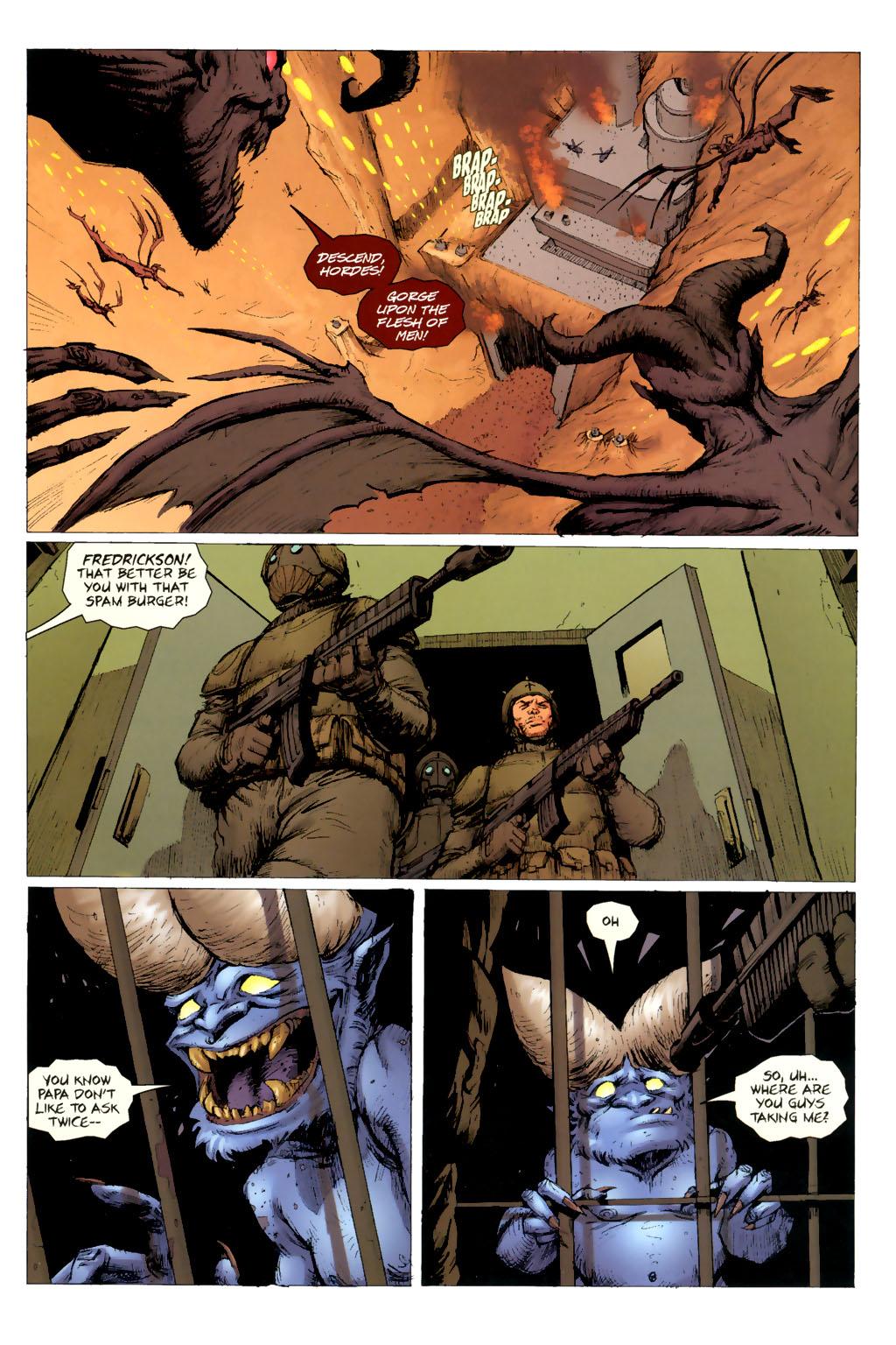 Strange Girl Issue #8 #9 - English 3