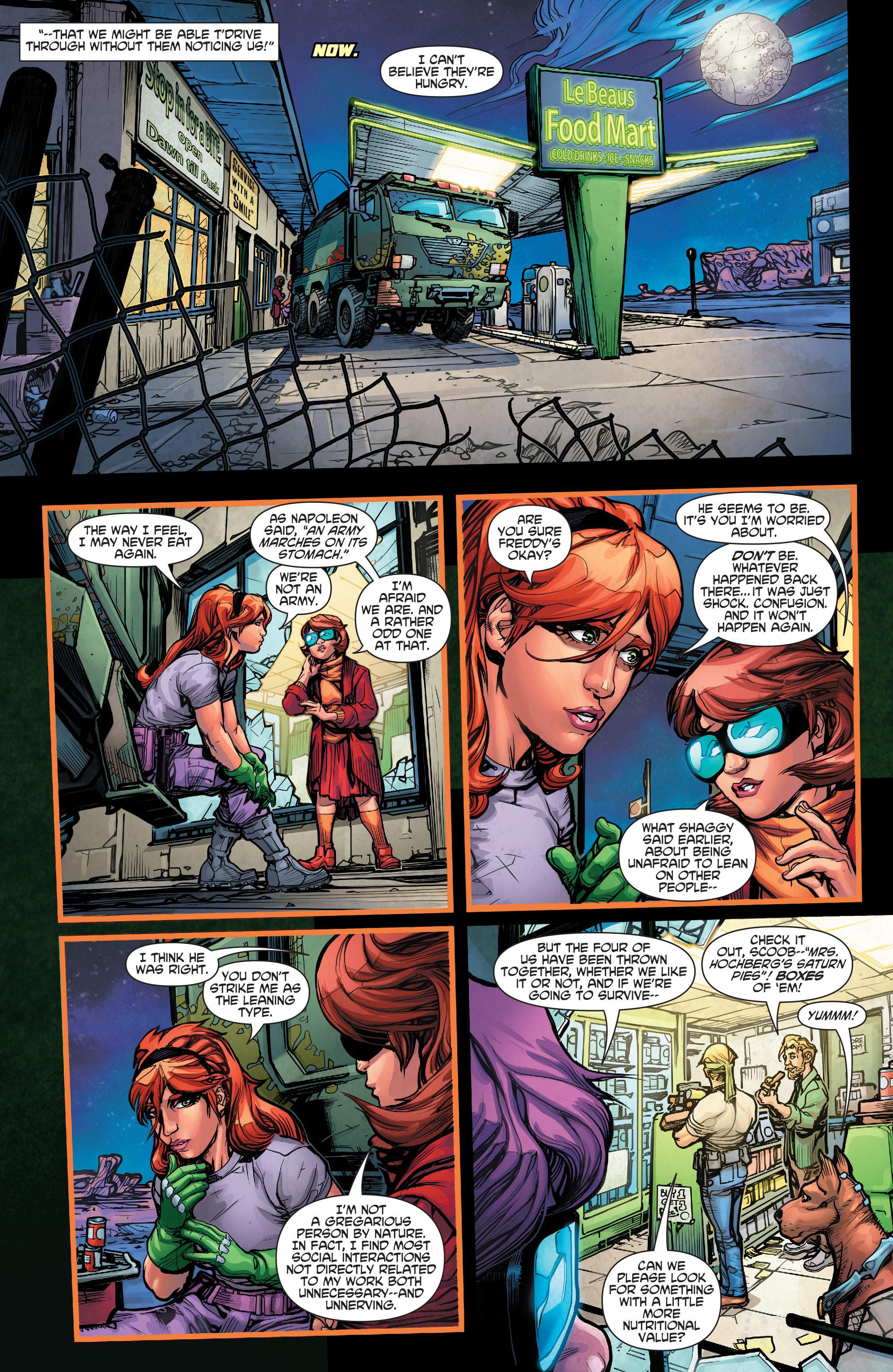 Read online Scooby Apocalypse comic -  Issue #3 - 22