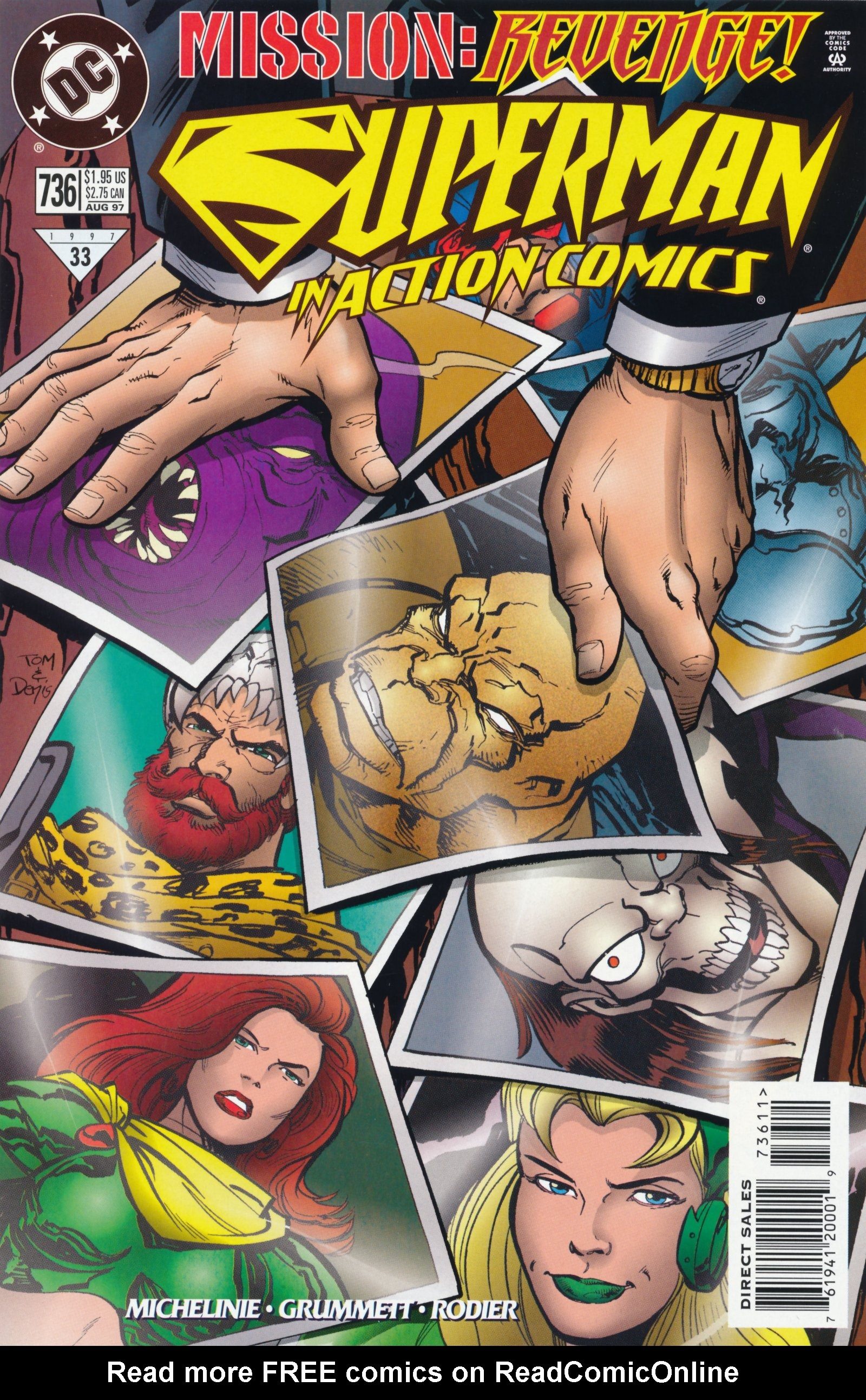 Action Comics (1938) 736 Page 1