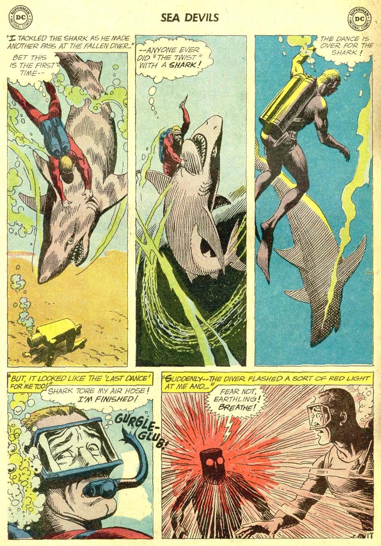 Read online Sea Devils comic -  Issue #10 - 25