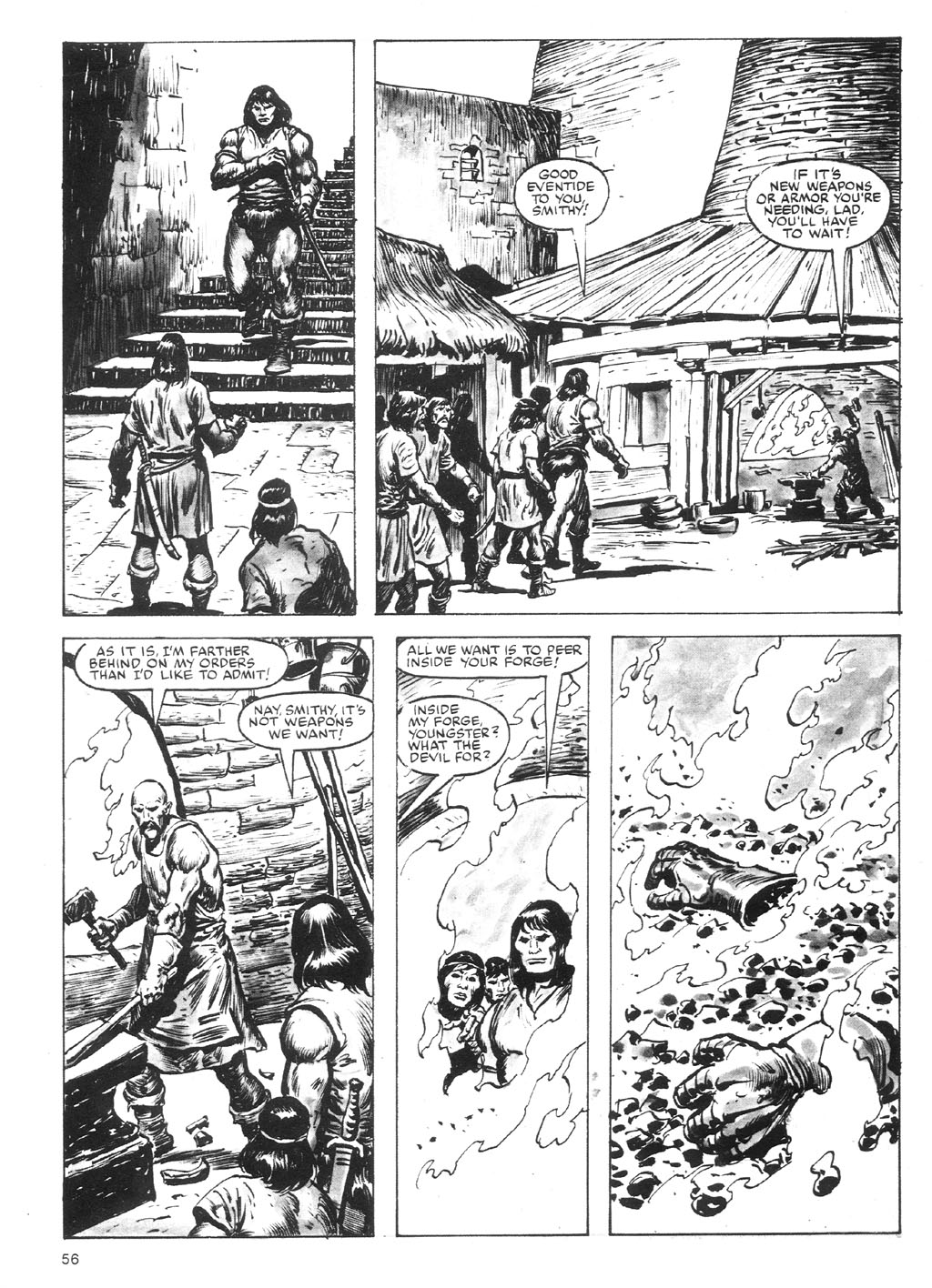 The Savage Sword Of Conan Issue #87 #88 - English 56