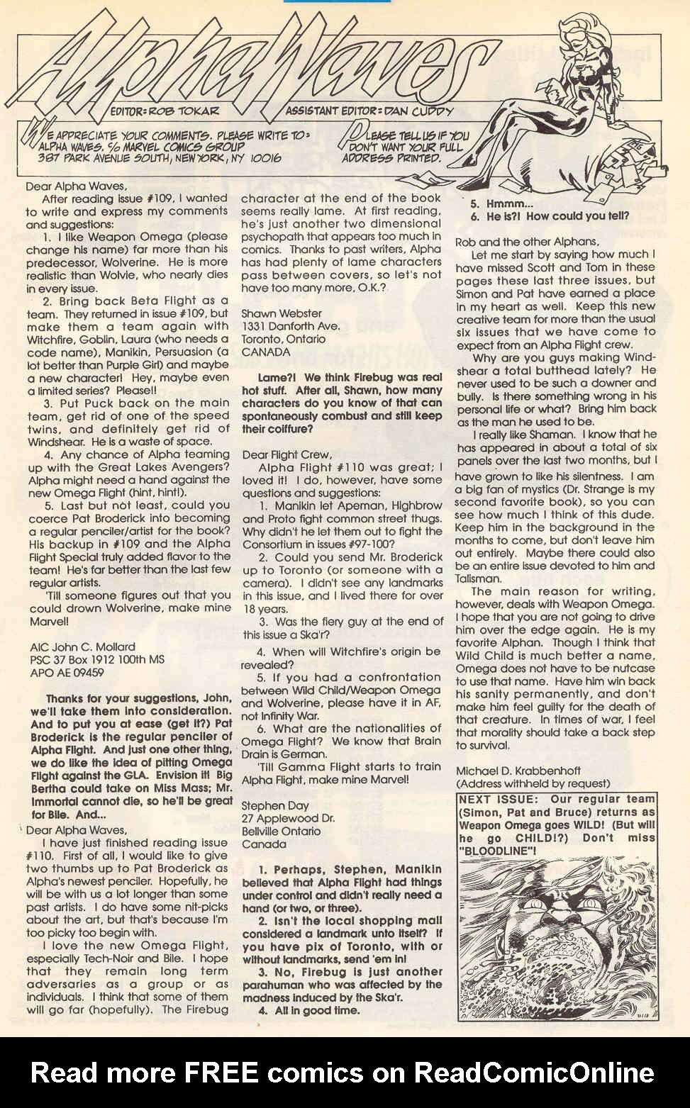 Alpha Flight (1983) 113 Page 23