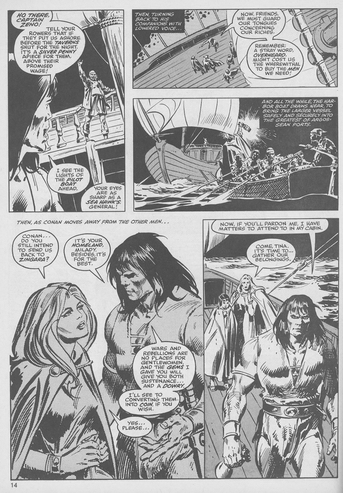 The Savage Sword Of Conan Issue #49 #50 - English 14