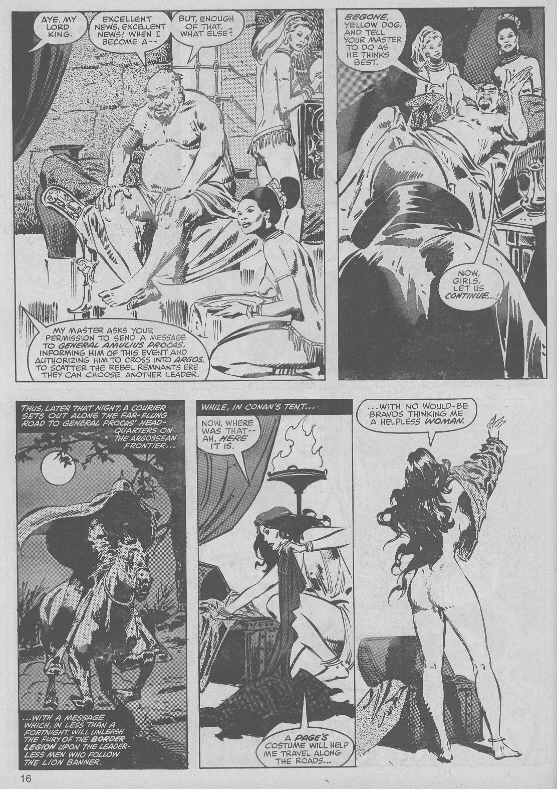 The Savage Sword Of Conan Issue #50 #51 - English 16