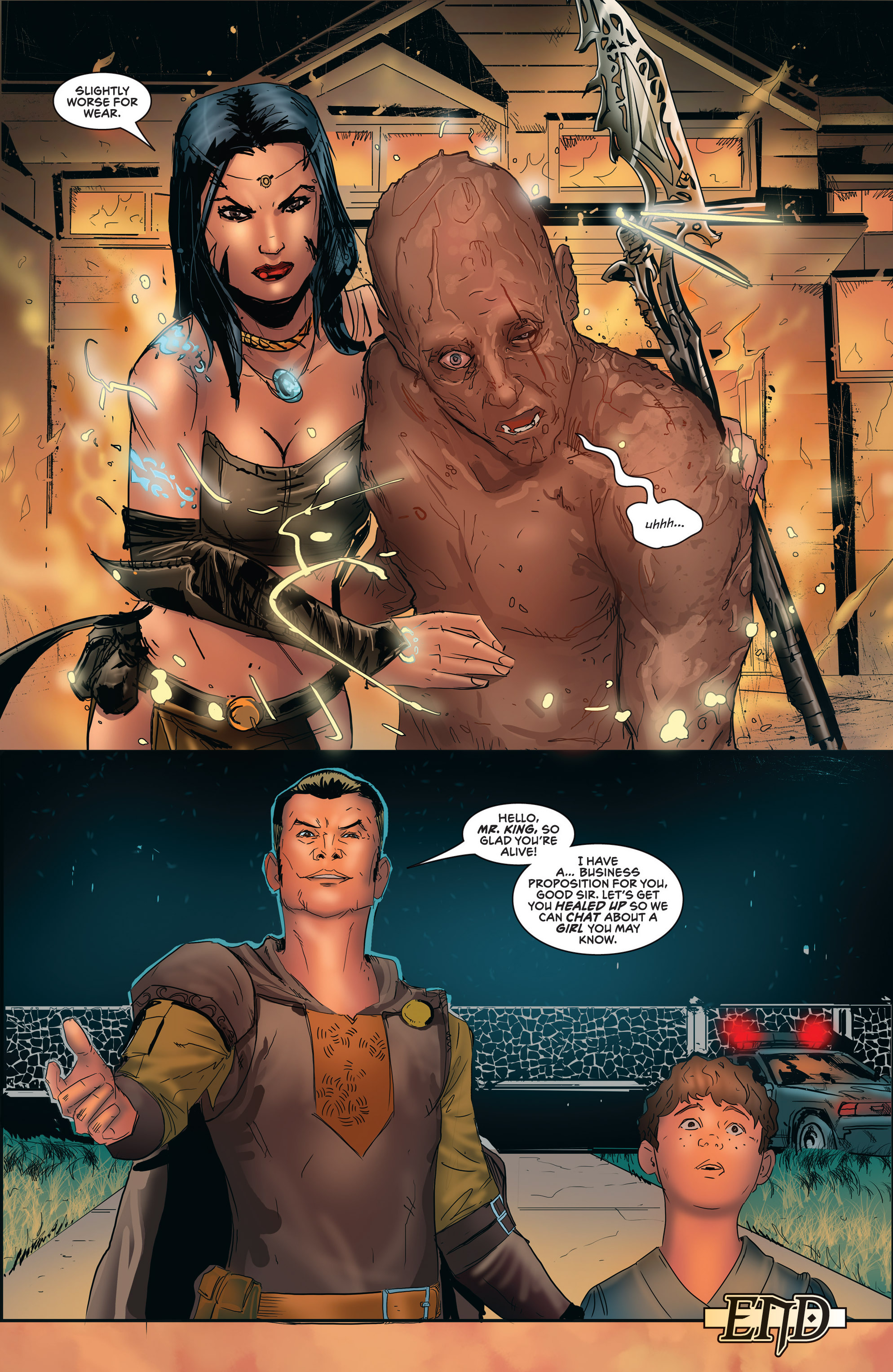 Read online Grimm Fairy Tales presents Robyn Hood (2012) comic -  Issue #5 - 42