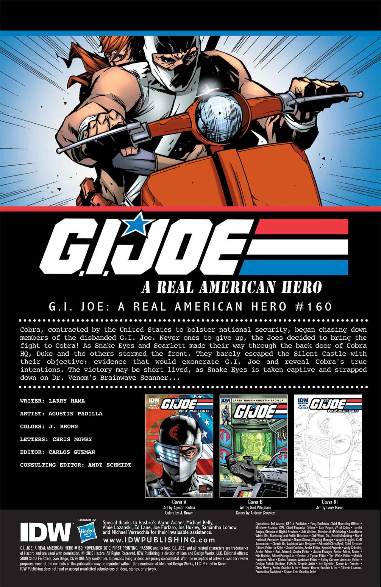 G.I. Joe: A Real American Hero 160 Page 3