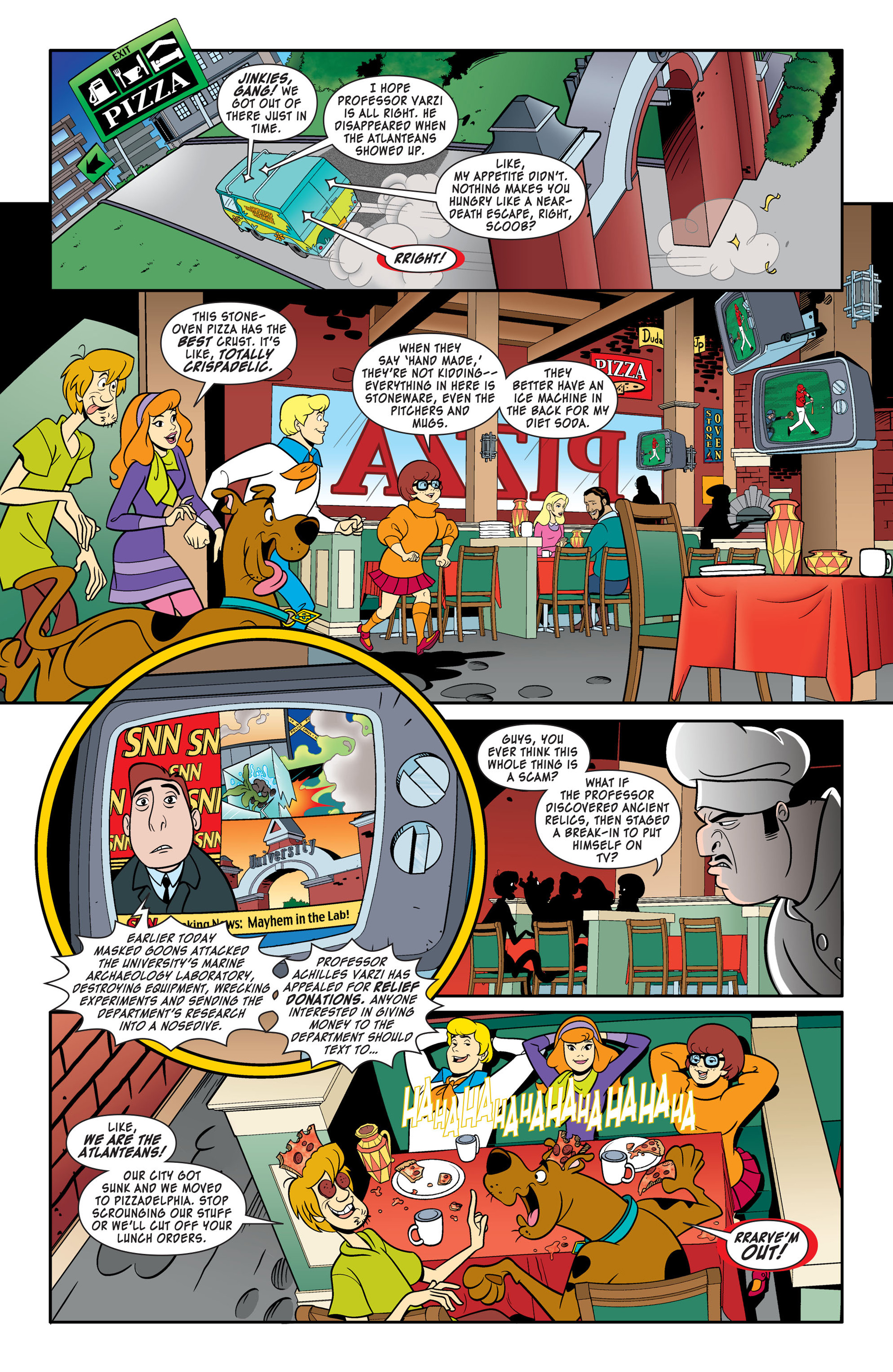 Read online Scooby-Doo: Where Are You? comic -  Issue #46 - 6