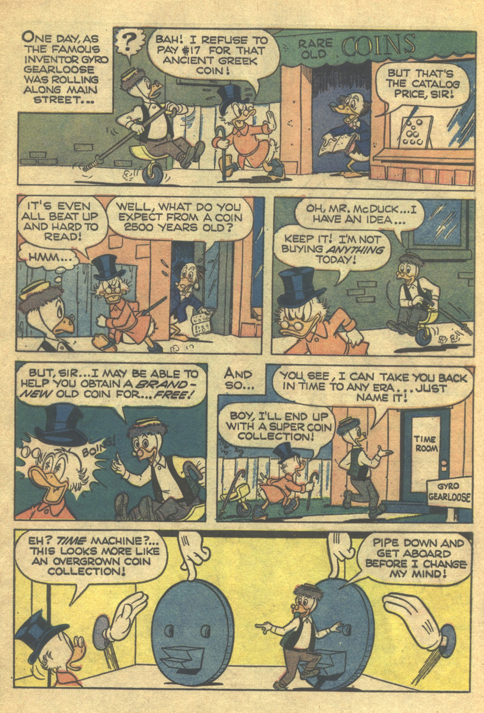 Uncle Scrooge (1953) Issue #75 #75 - English 4