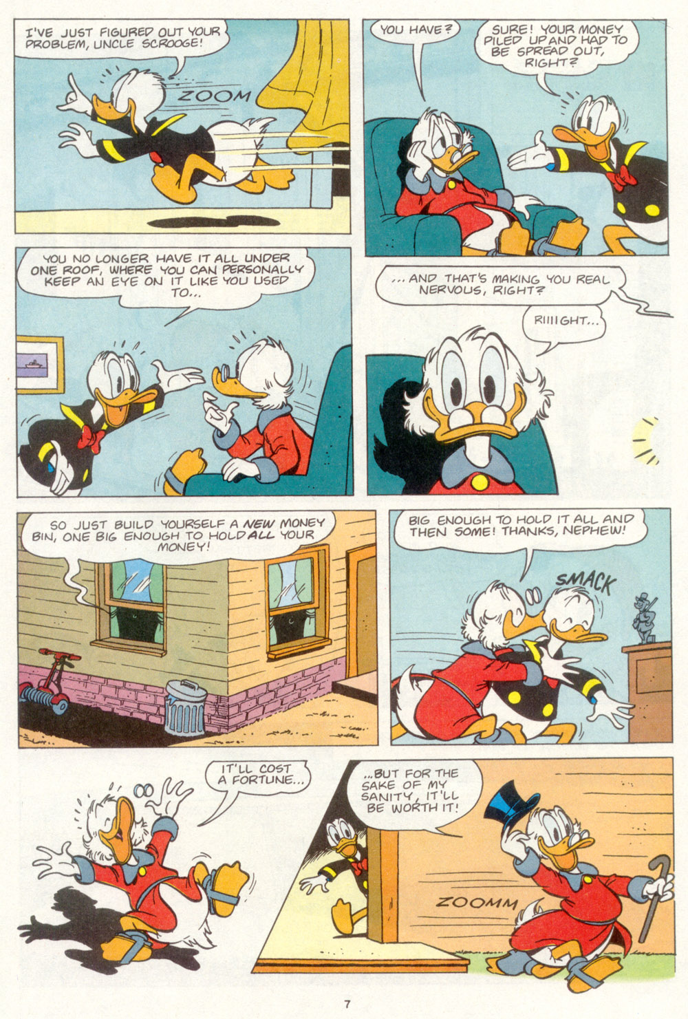 Uncle Scrooge (1953) Issue #266 #266 - English 8