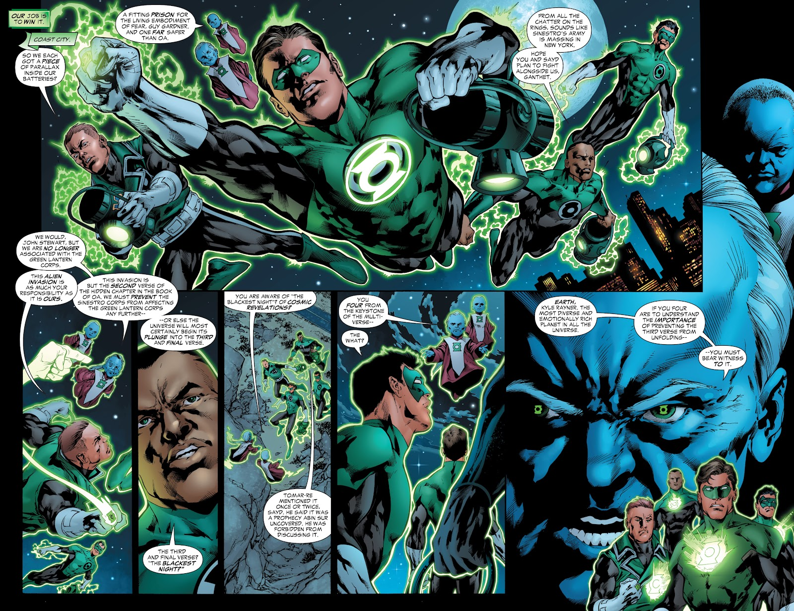 Green Lantern: The Sinestro Corps War Full #1 - English 249