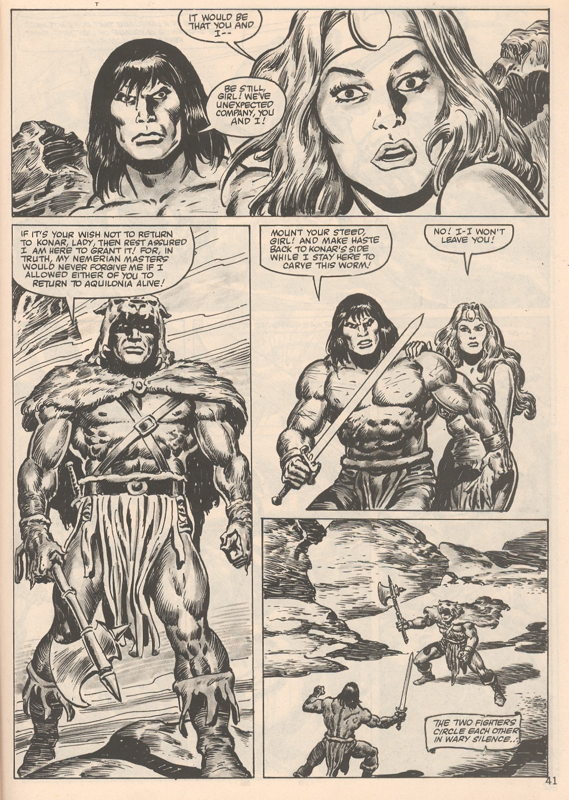 The Savage Sword Of Conan Issue #104 #105 - English 41