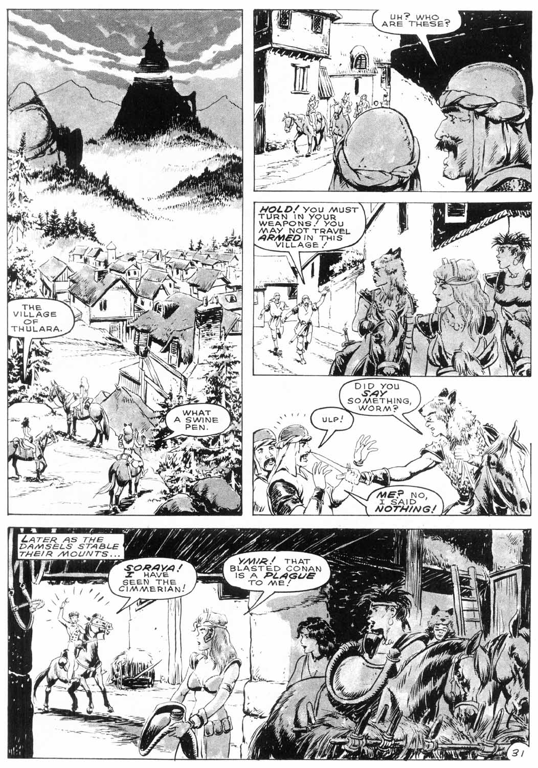 The Savage Sword Of Conan Issue #154 #155 - English 33