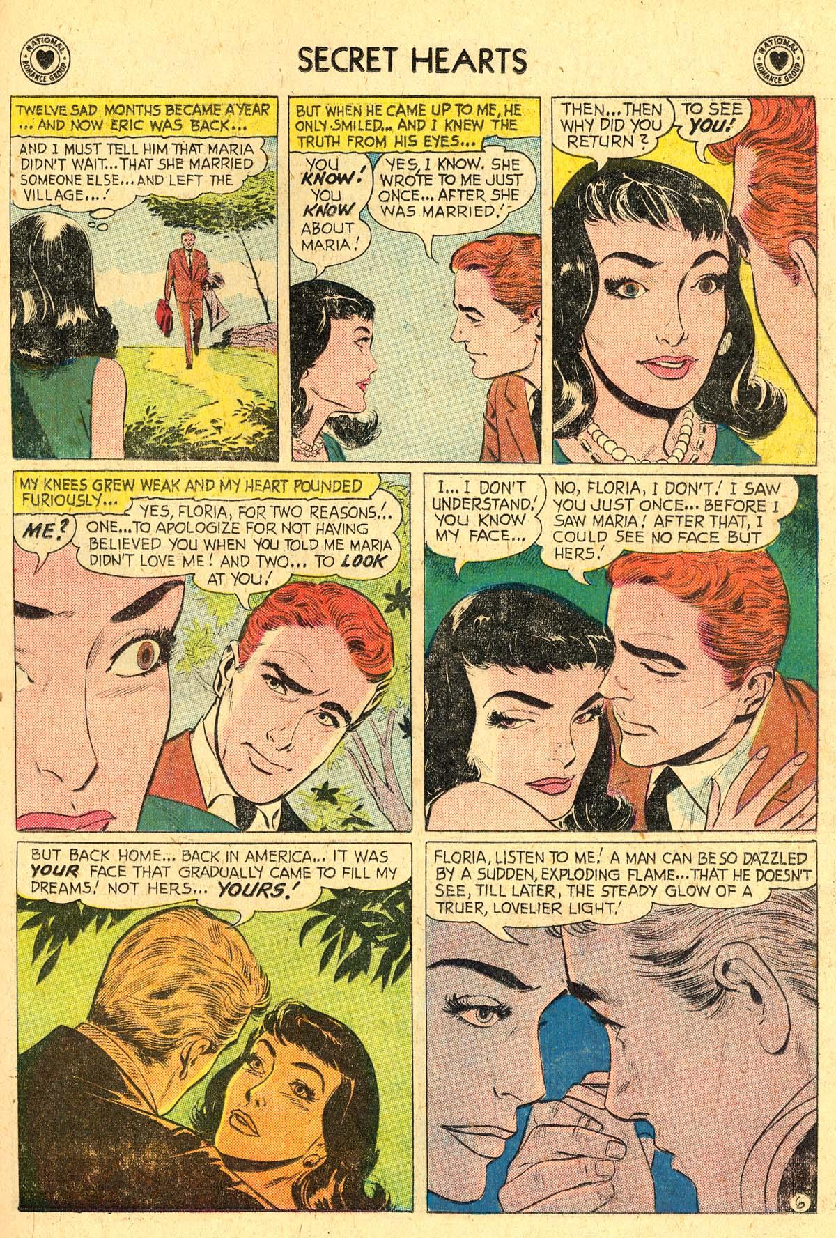 Read online Secret Hearts comic -  Issue #57 - 23