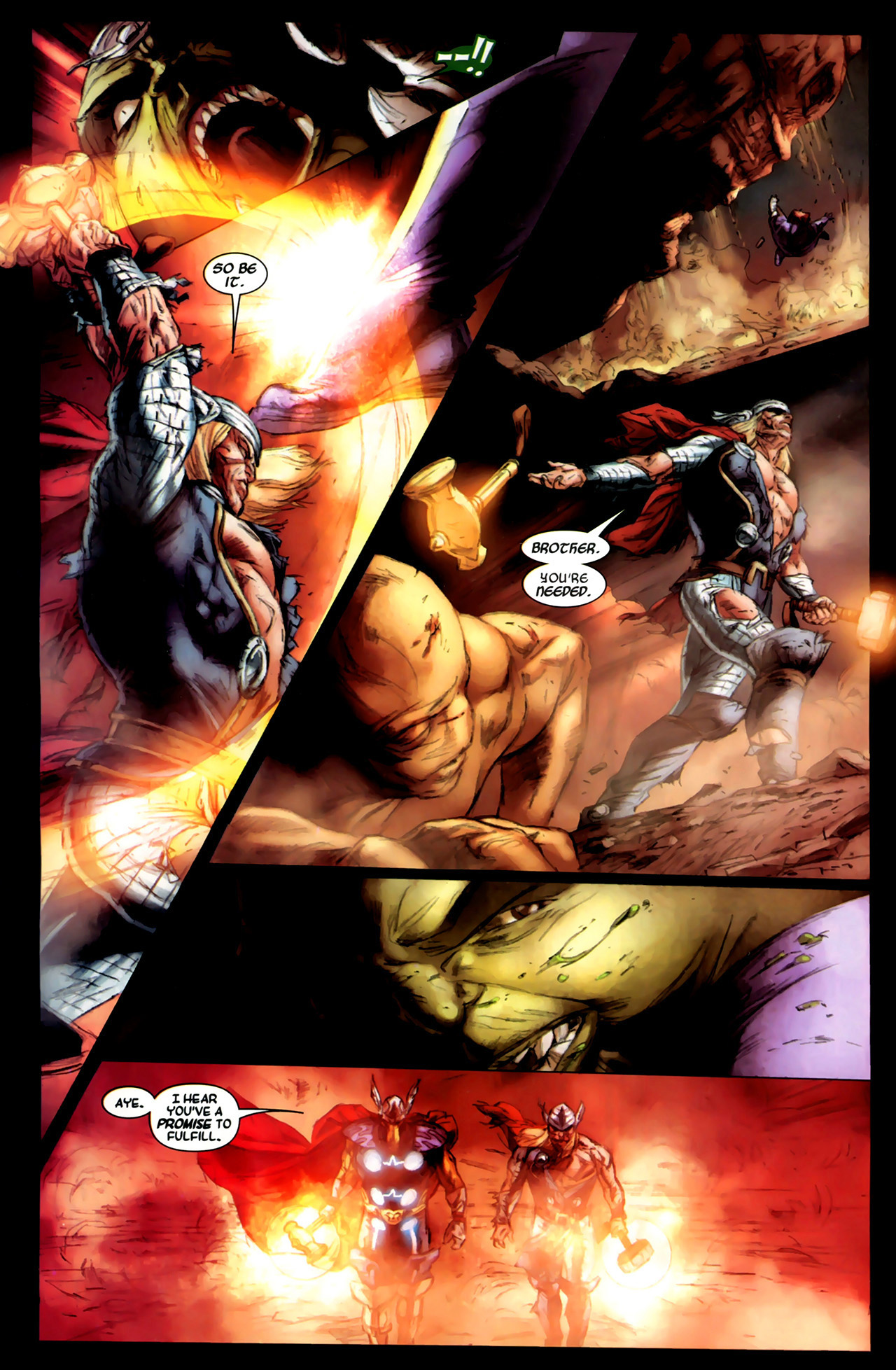 Read online Secret Invasion: Thor comic -  Issue #3 - 17
