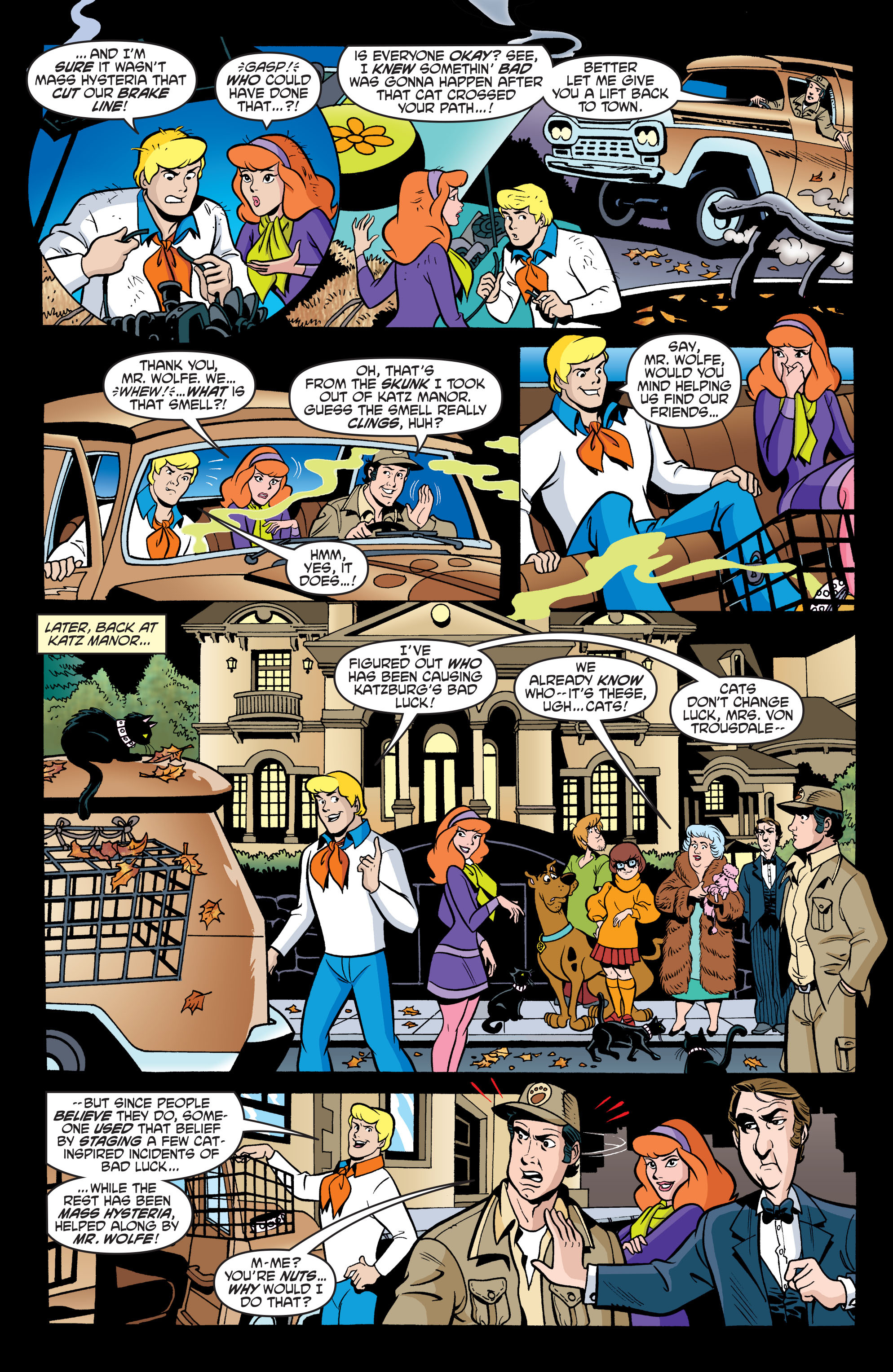 Read online Scooby-Doo: Where Are You? comic -  Issue #63 - 22