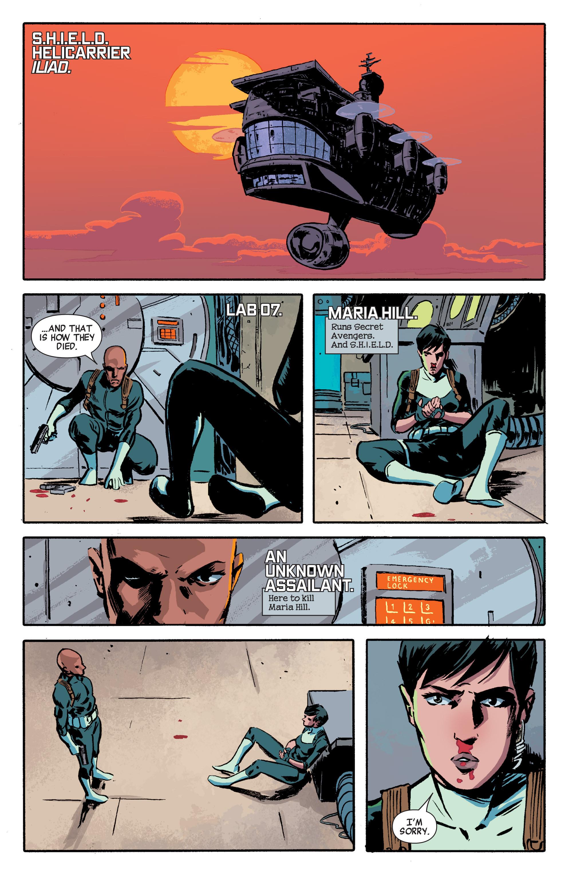 Read online Secret Avengers (2014) comic -  Issue #2 - 7