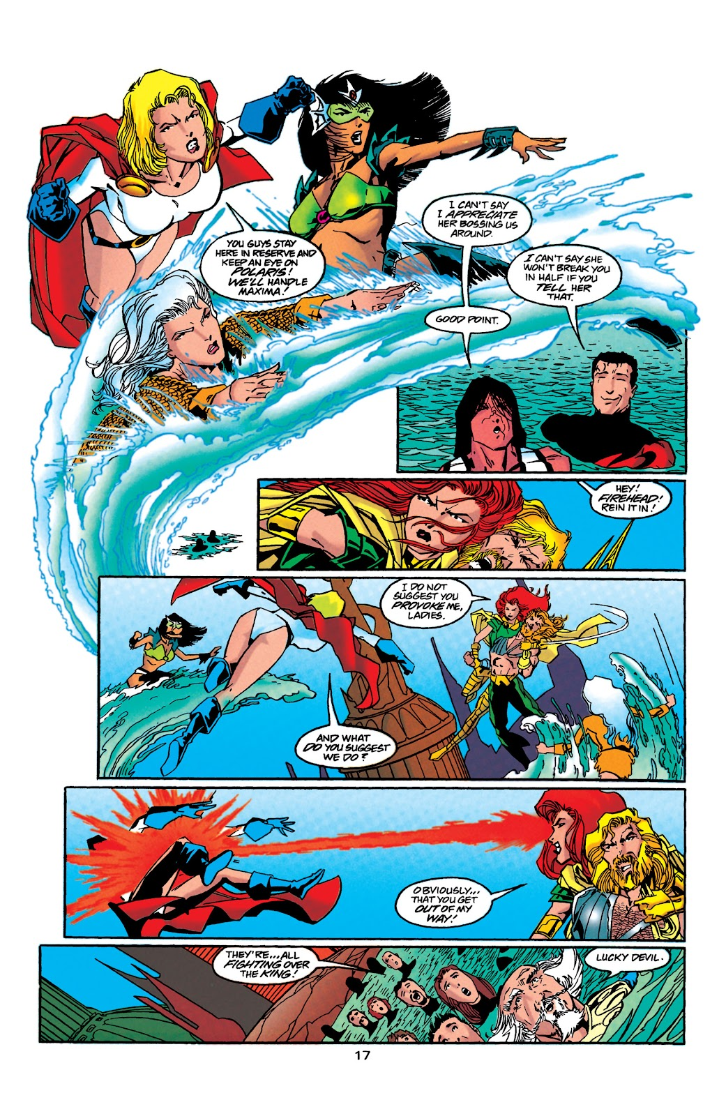 Aquaman (1994) Issue #41 #47 - English 18