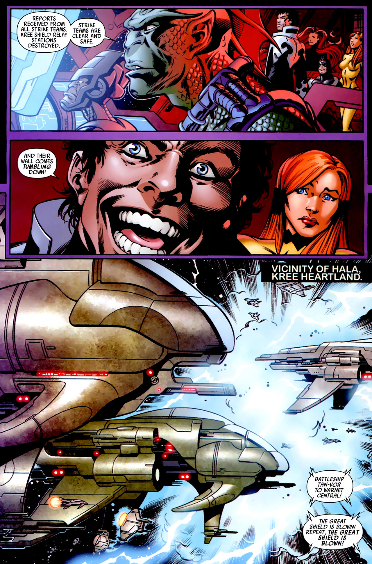 Read online Secret Invasion: War of Kings comic -  Issue # Full - 29