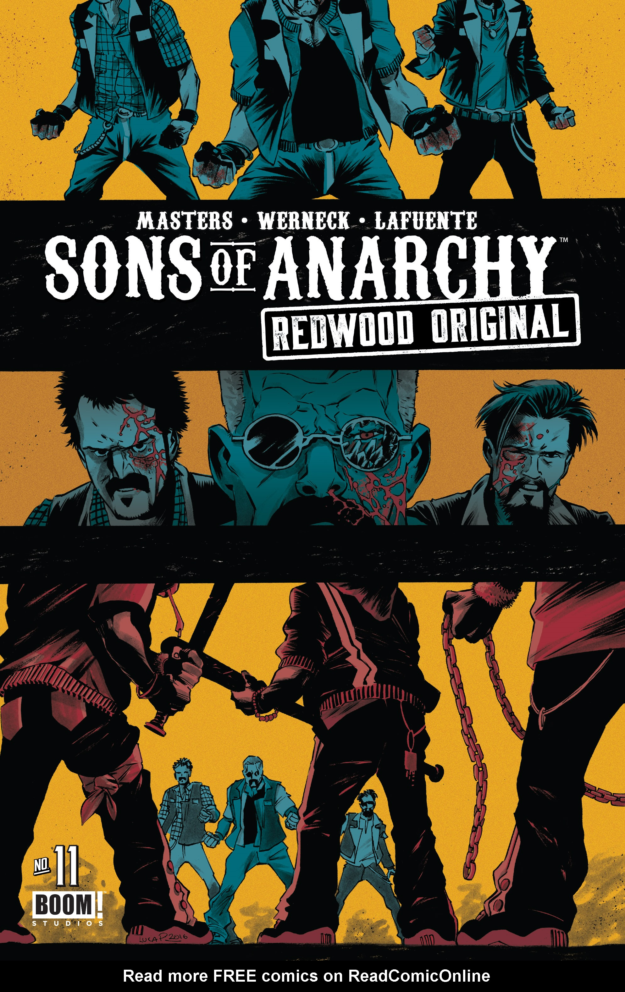 Sons of Anarchy: Redwood Original 11 Page 1
