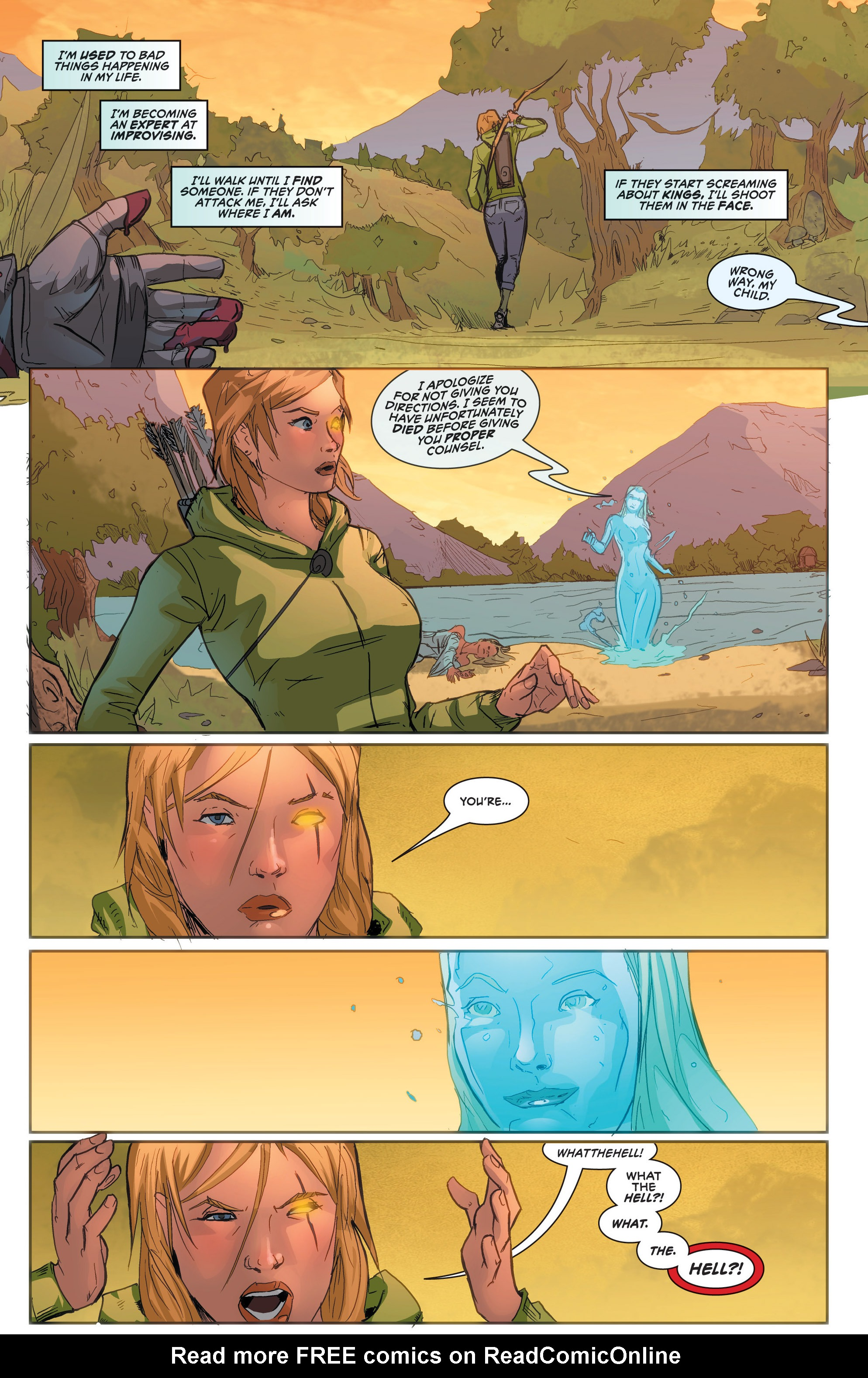 Read online Grimm Fairy Tales presents Robyn Hood (2012) comic -  Issue #2 - 8