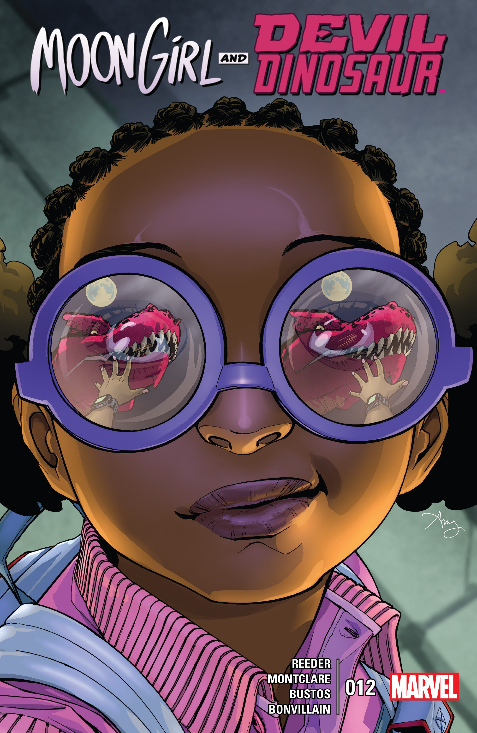 Moon Girl And Devil Dinosaur issue 12 - Page 1
