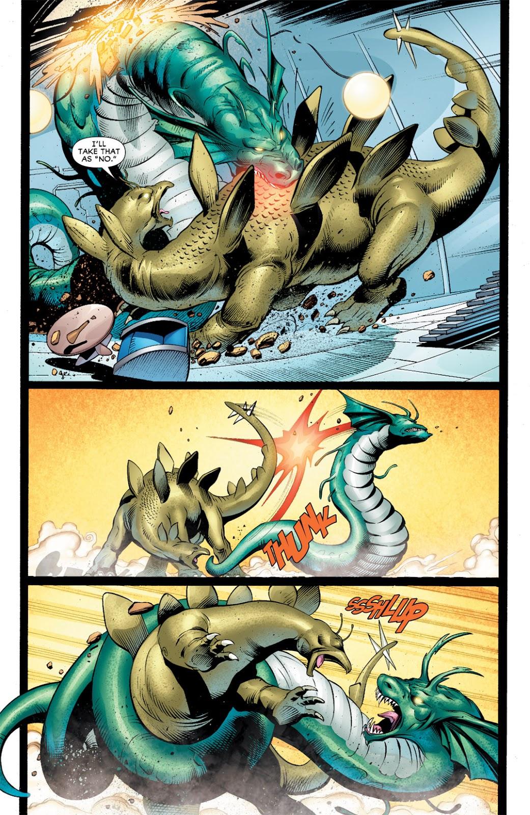 Legion of Super-Heroes (2010) Issue #10 #11 - English 15