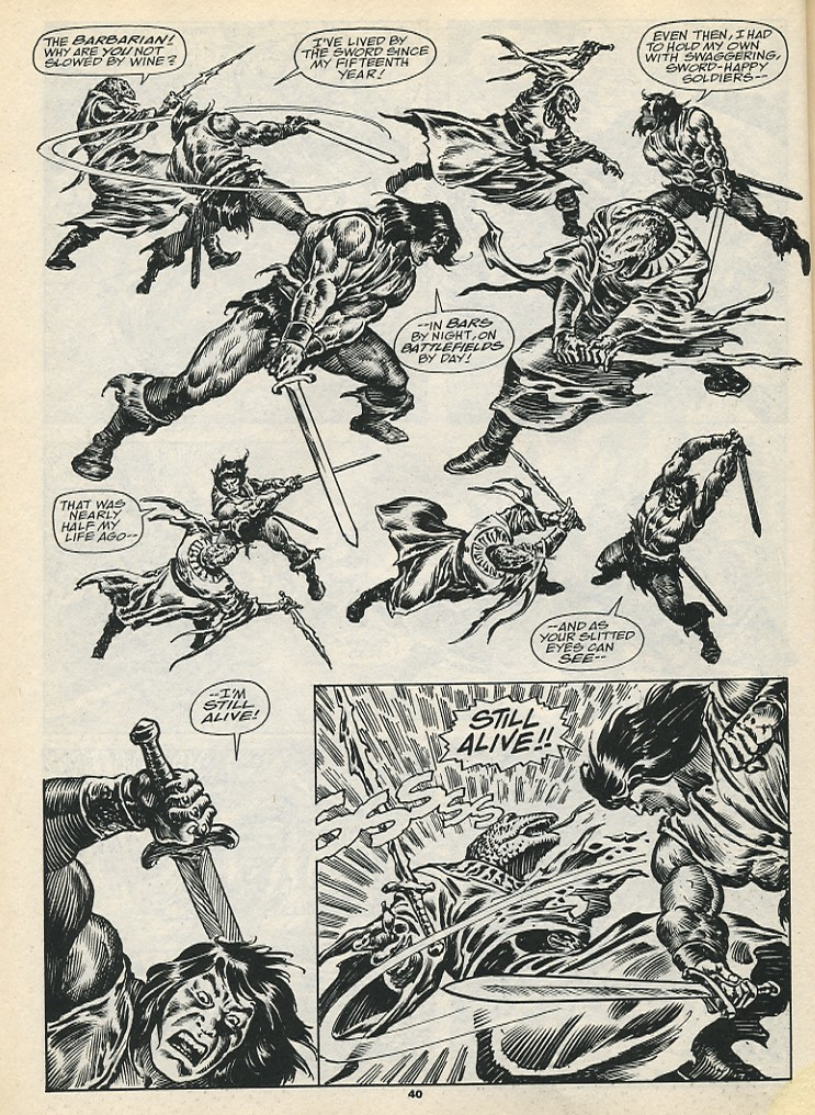 The Savage Sword Of Conan Issue #192 #193 - English 42
