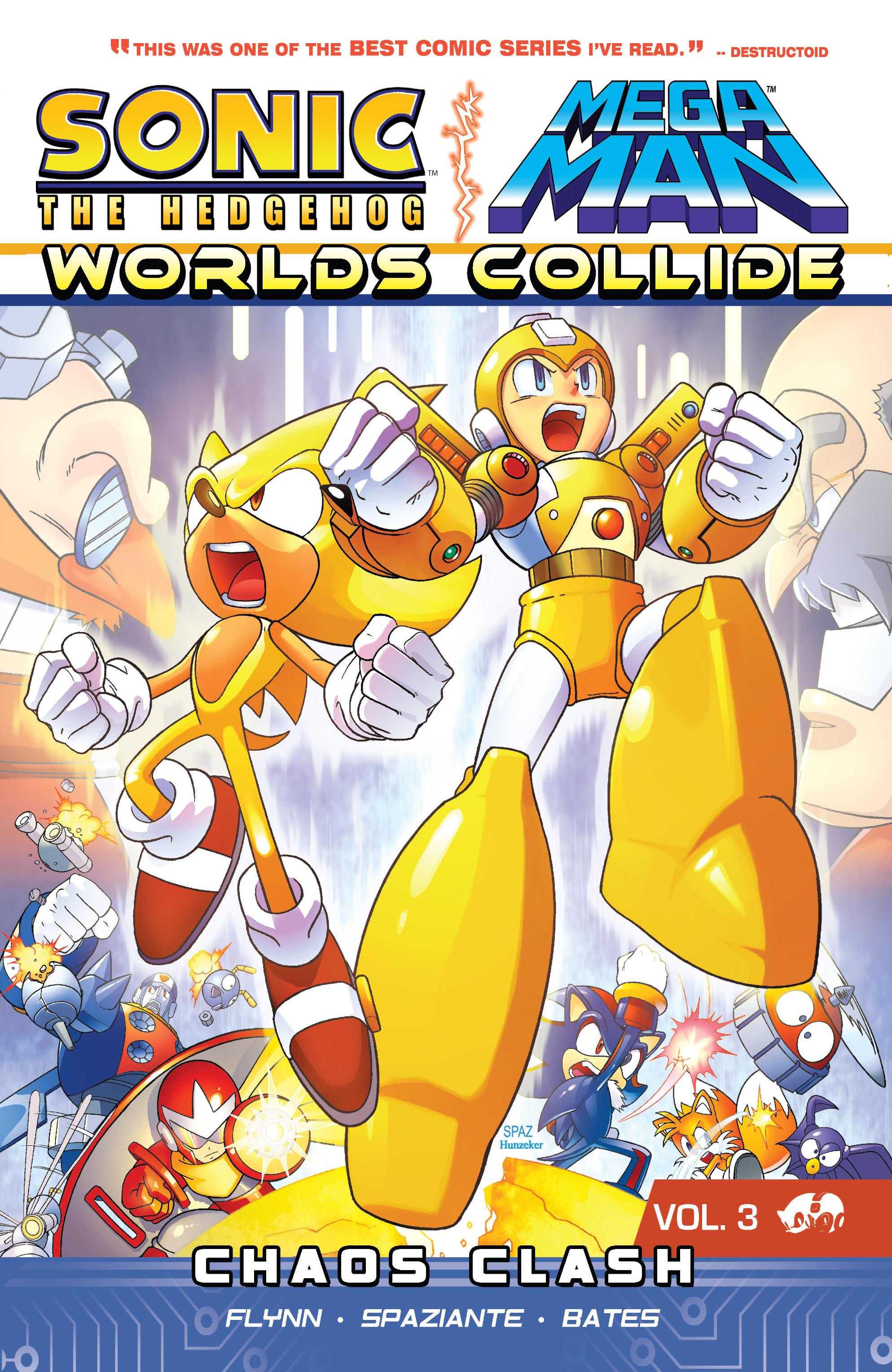 Sonic Mega Man Worlds Collide Vol_3 Page 1