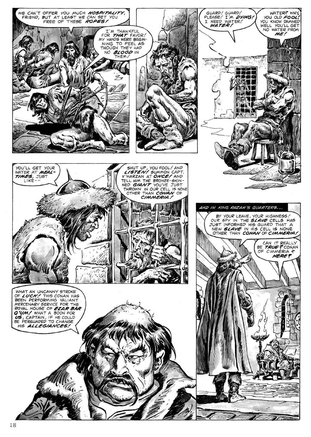The Savage Sword Of Conan Issue #71 #72 - English 18