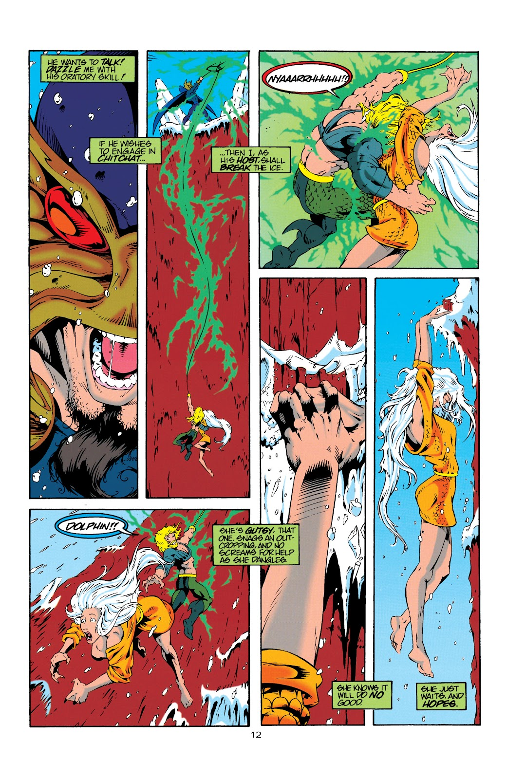 Aquaman (1994) Issue #19 #25 - English 12