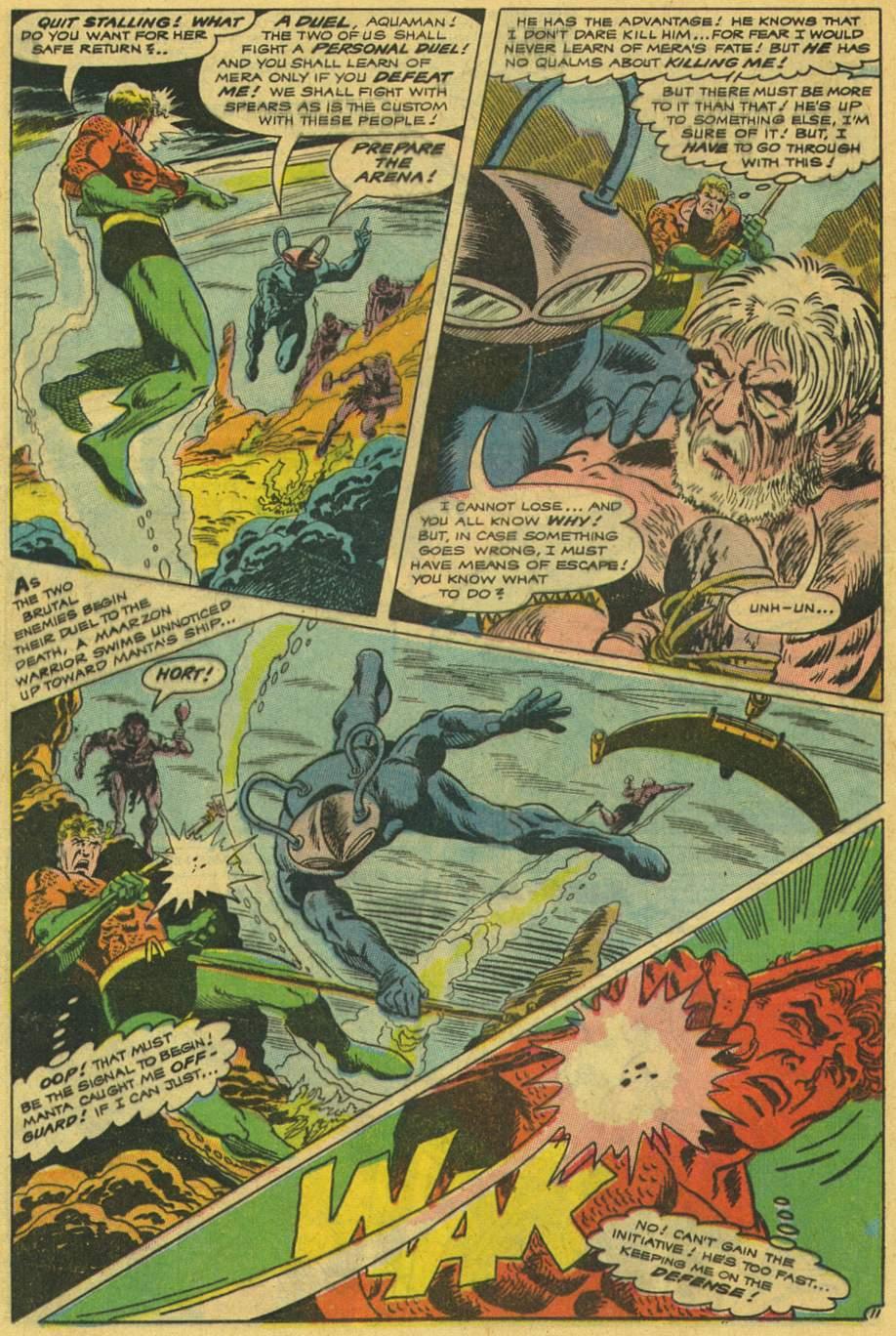 Aquaman (1962) Issue #42 #42 - English 16