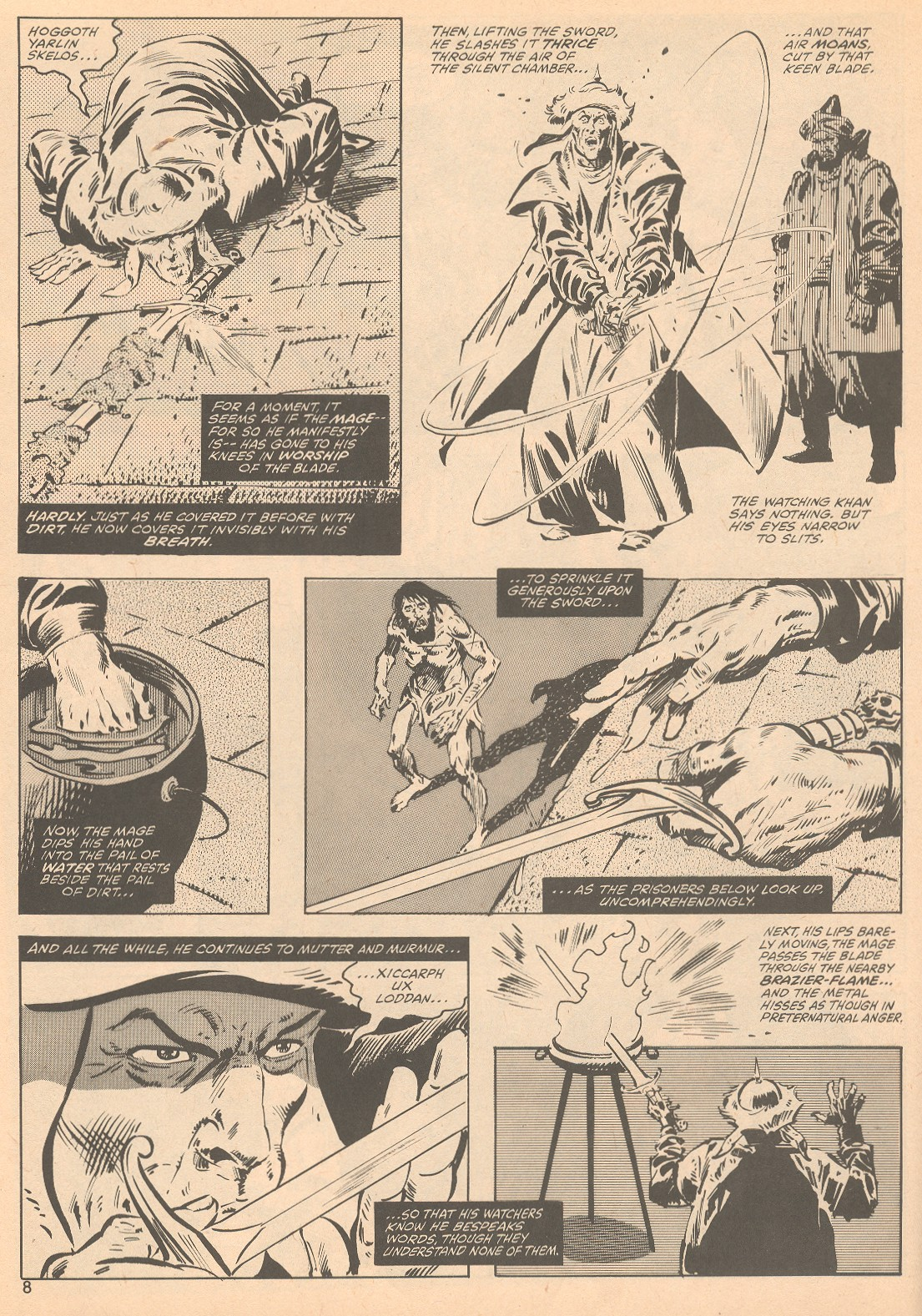 The Savage Sword Of Conan Issue #56 #57 - English 8