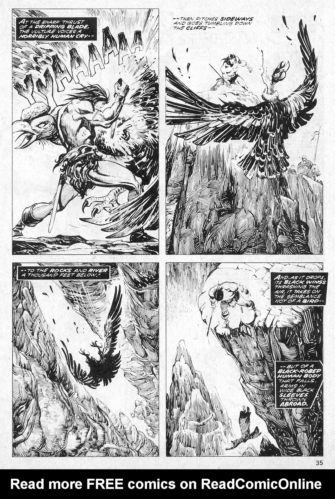 The Savage Sword Of Conan Issue #19 #20 - English 35