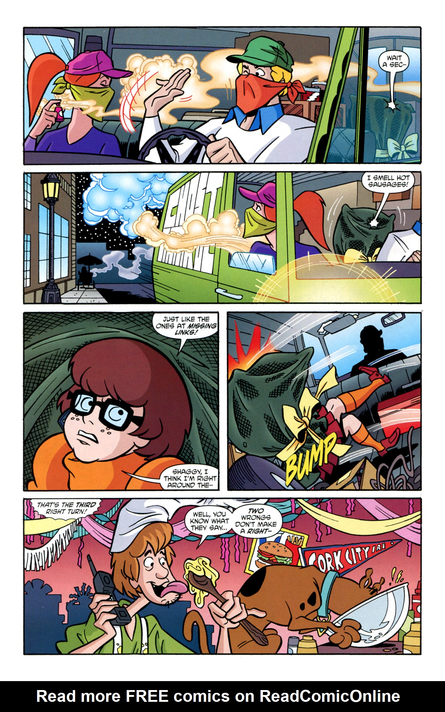 Read online Scooby-Doo: Where Are You? comic -  Issue #22 - 11