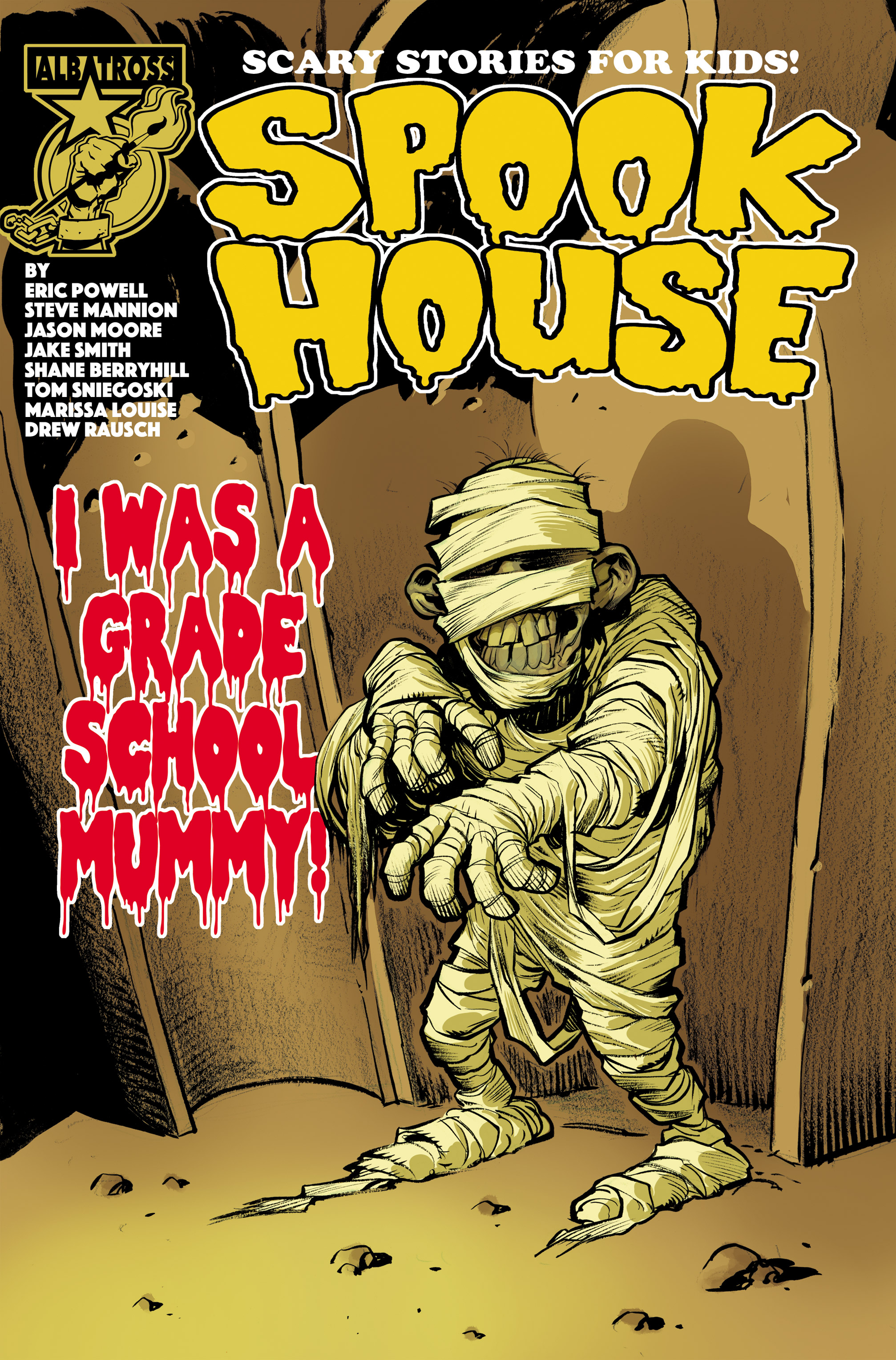 Spook House issue 5 - Page 1