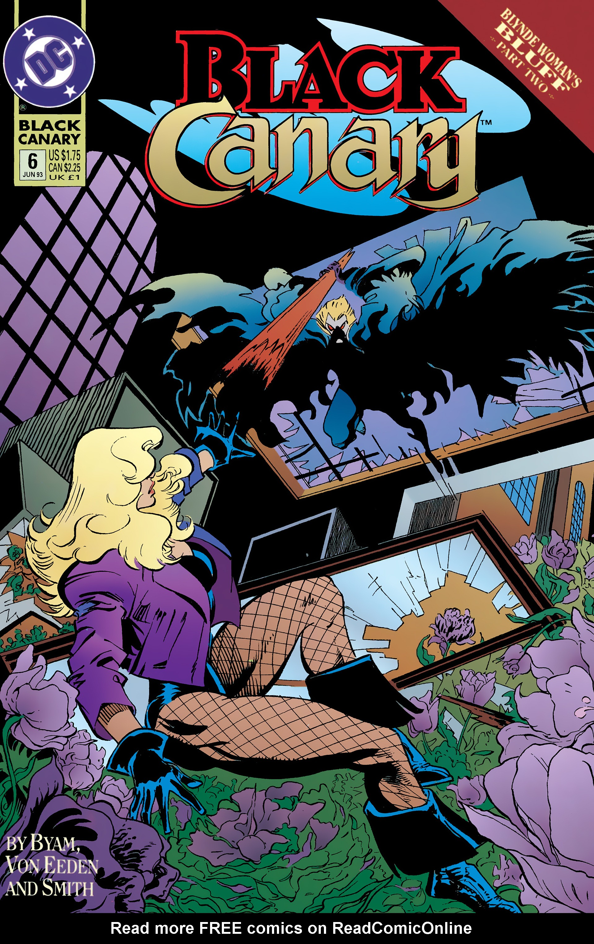 Black Canary (1993) 6 Page 1