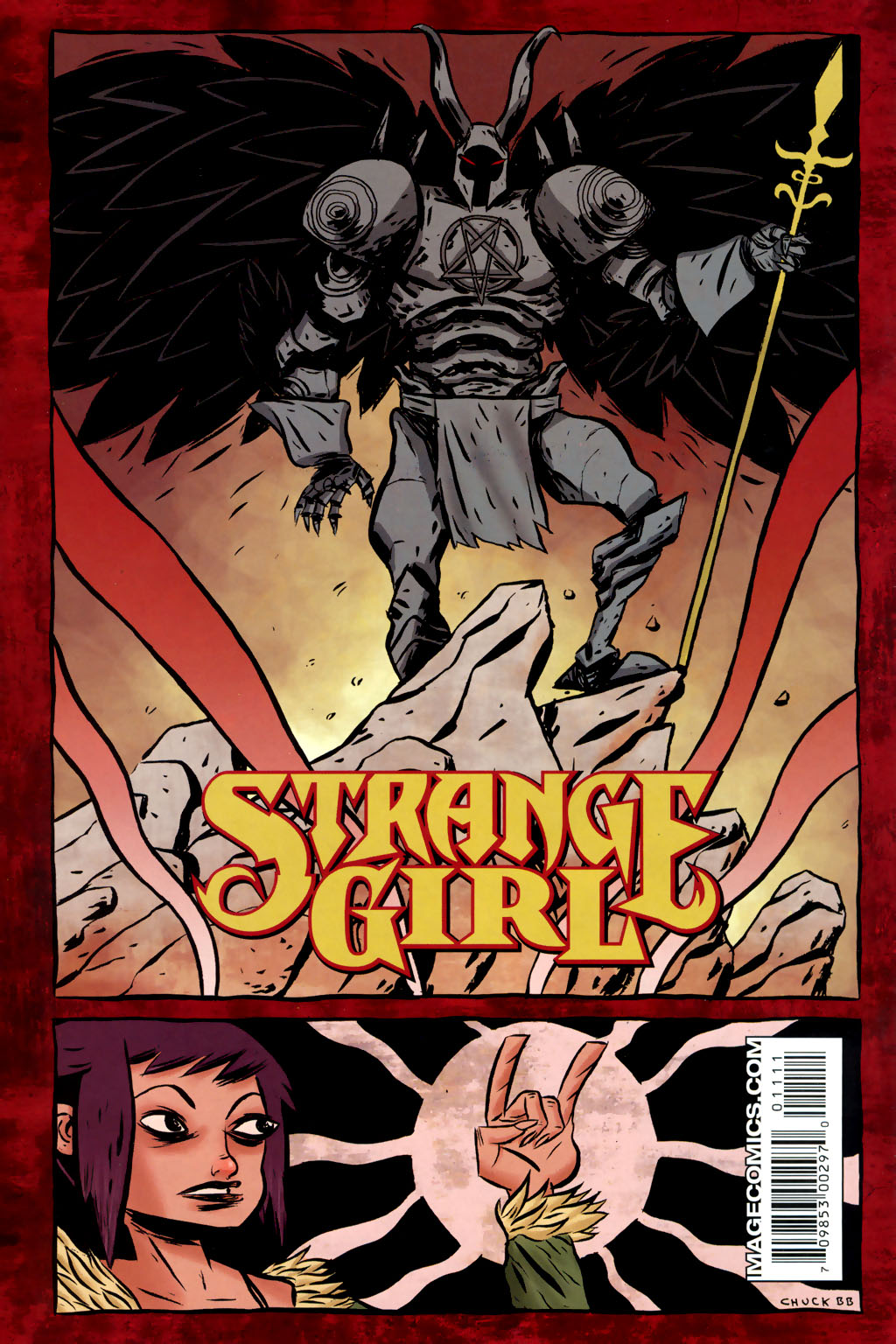 Read online Strange Girl comic -  Issue #11 - 31