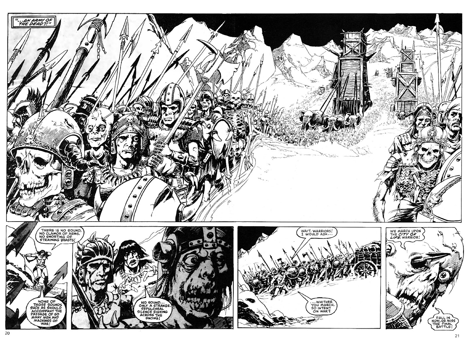 The Savage Sword Of Conan Issue #110 #111 - English 21