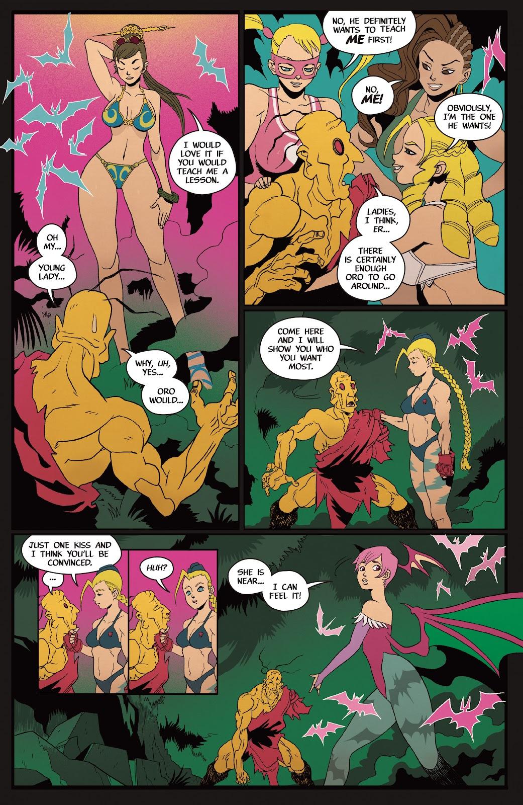 Street Fighter VS Darkstalkers Issue #2 #3 - English 23