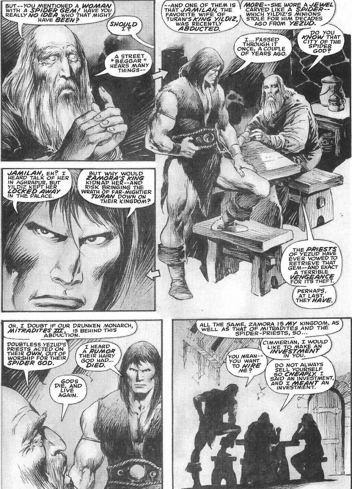 The Savage Sword Of Conan Issue #207 #208 - English 33